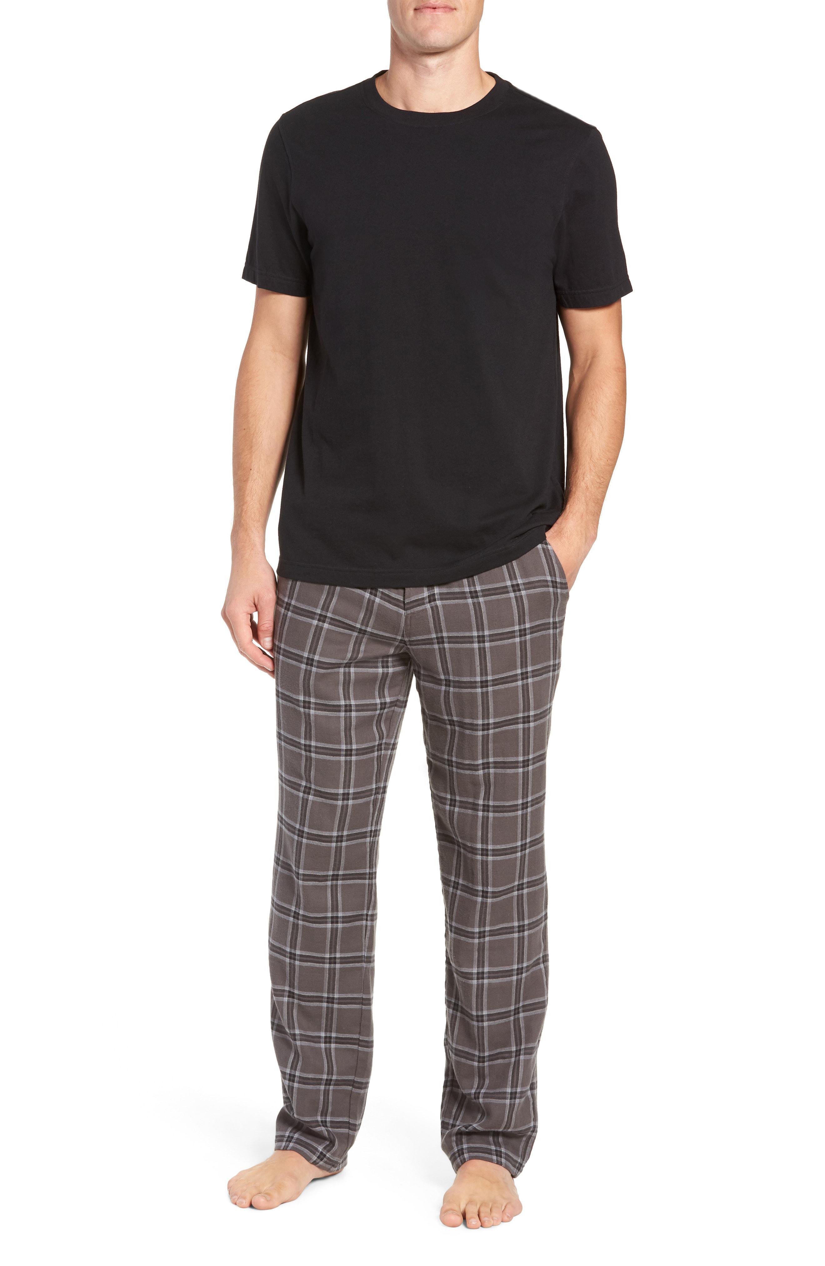 Lyst - Ugg Ugg Grant Pajama Set in Black for Men 598aaeb4c