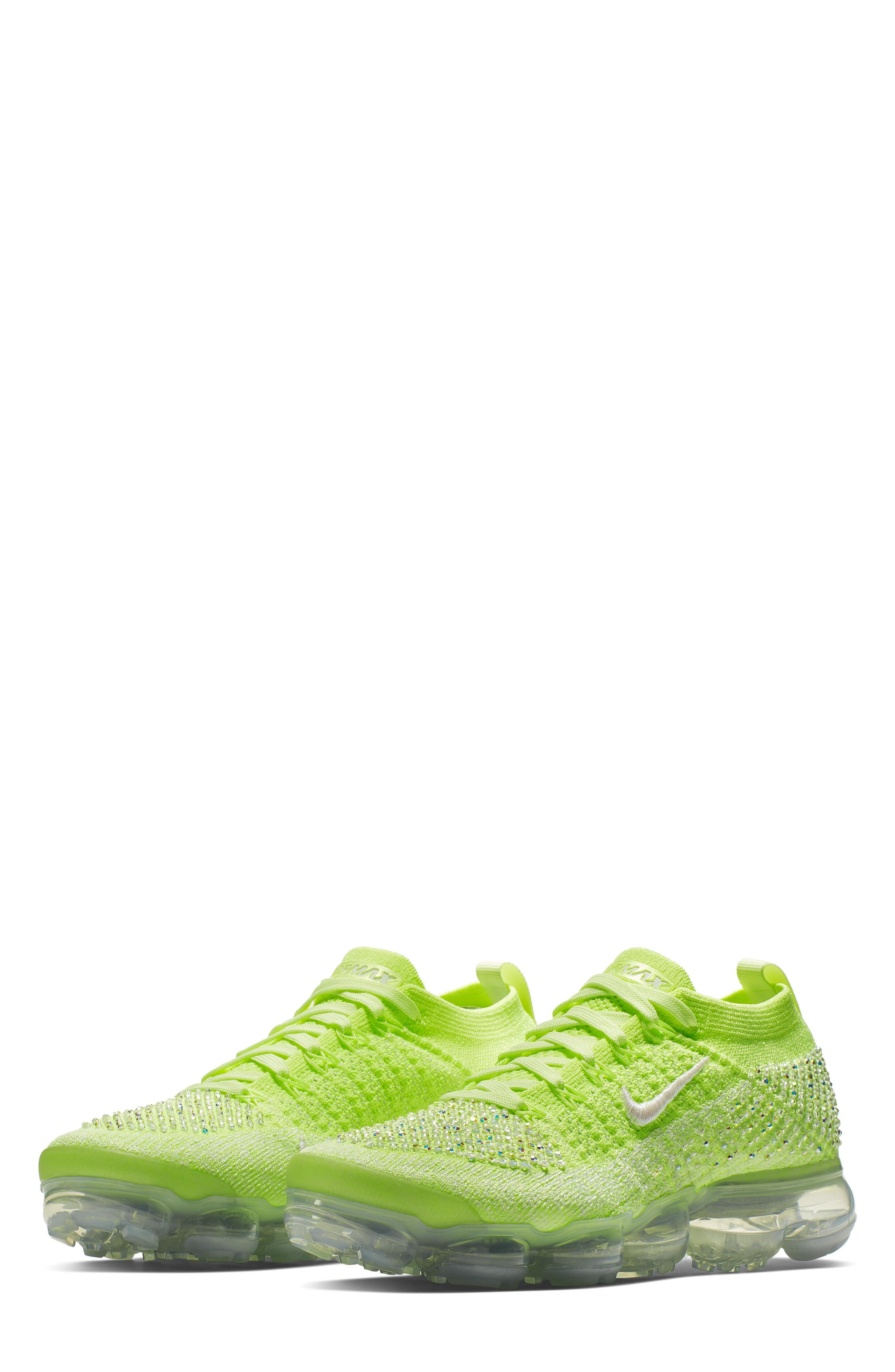 6d8be3606f2 Lyst - Nike Air Vapormax Flyknit 2 Swarovski Running Shoe in Green