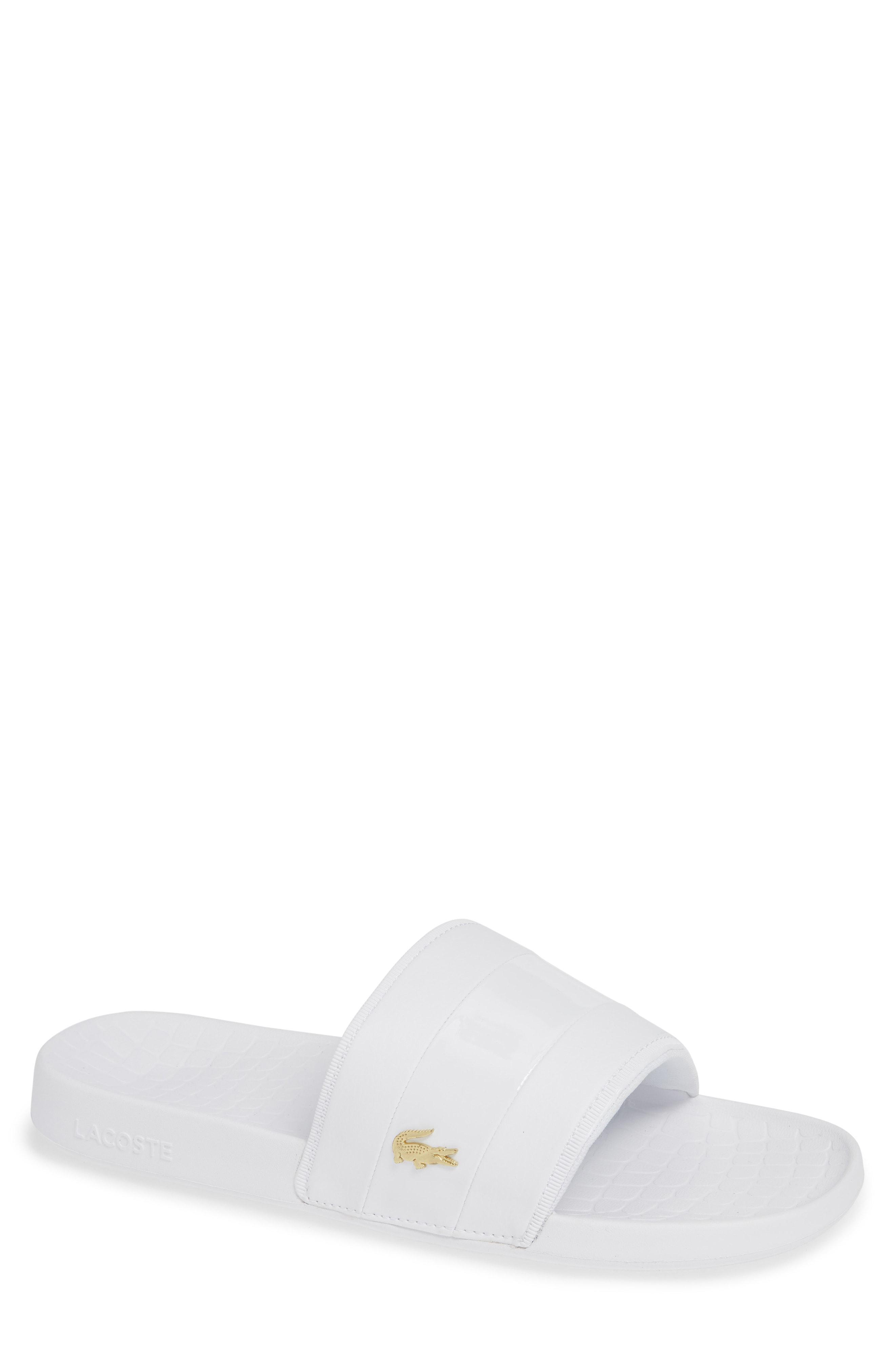 66f530b5f080c Lyst - Lacoste Fraisier 118 Slide Sandal in Black for Men - Save 36%