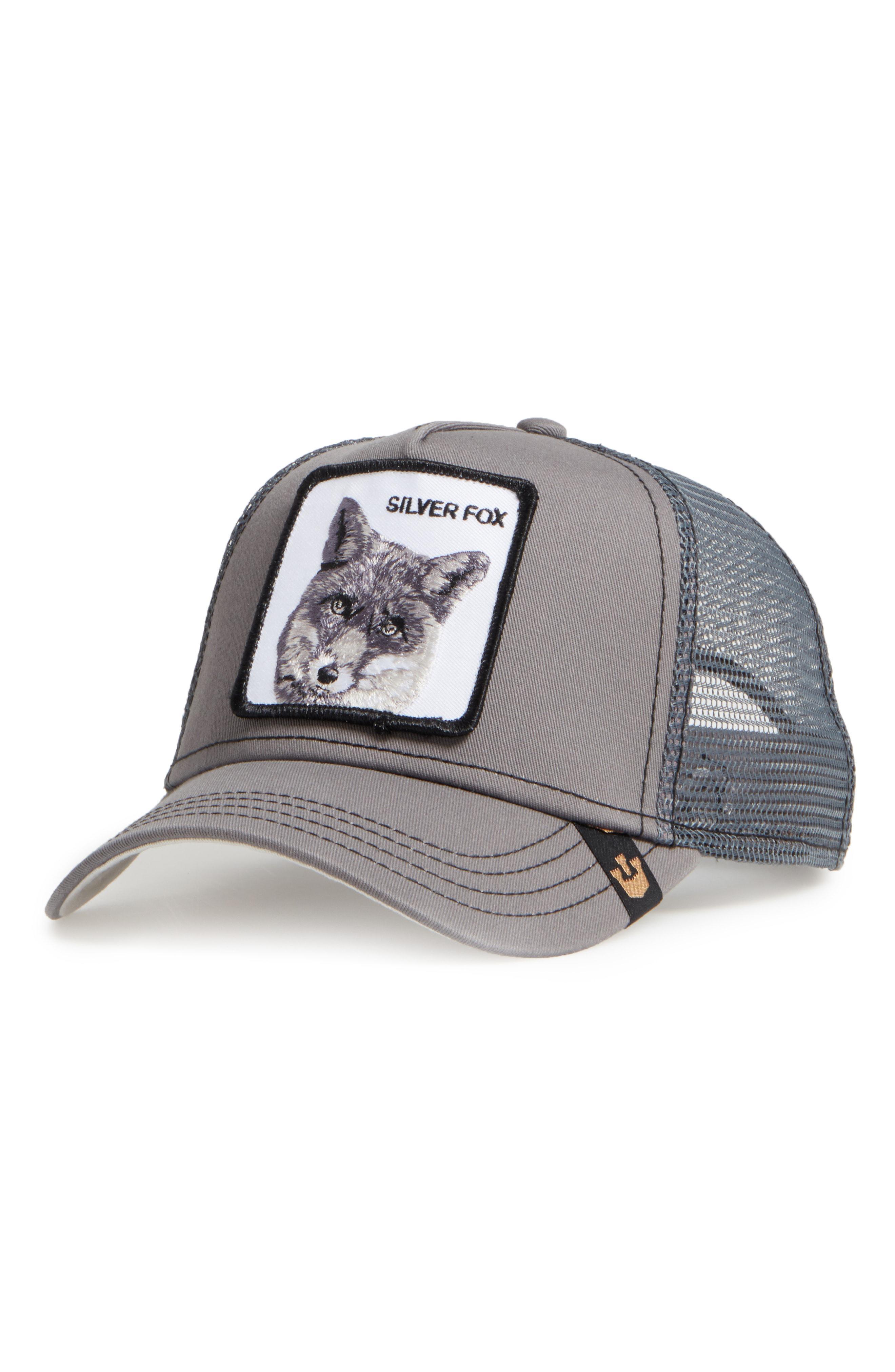 a337ce95b68 Lyst - Goorin Bros  silver Fox  Trucker Hat in Gray for Men
