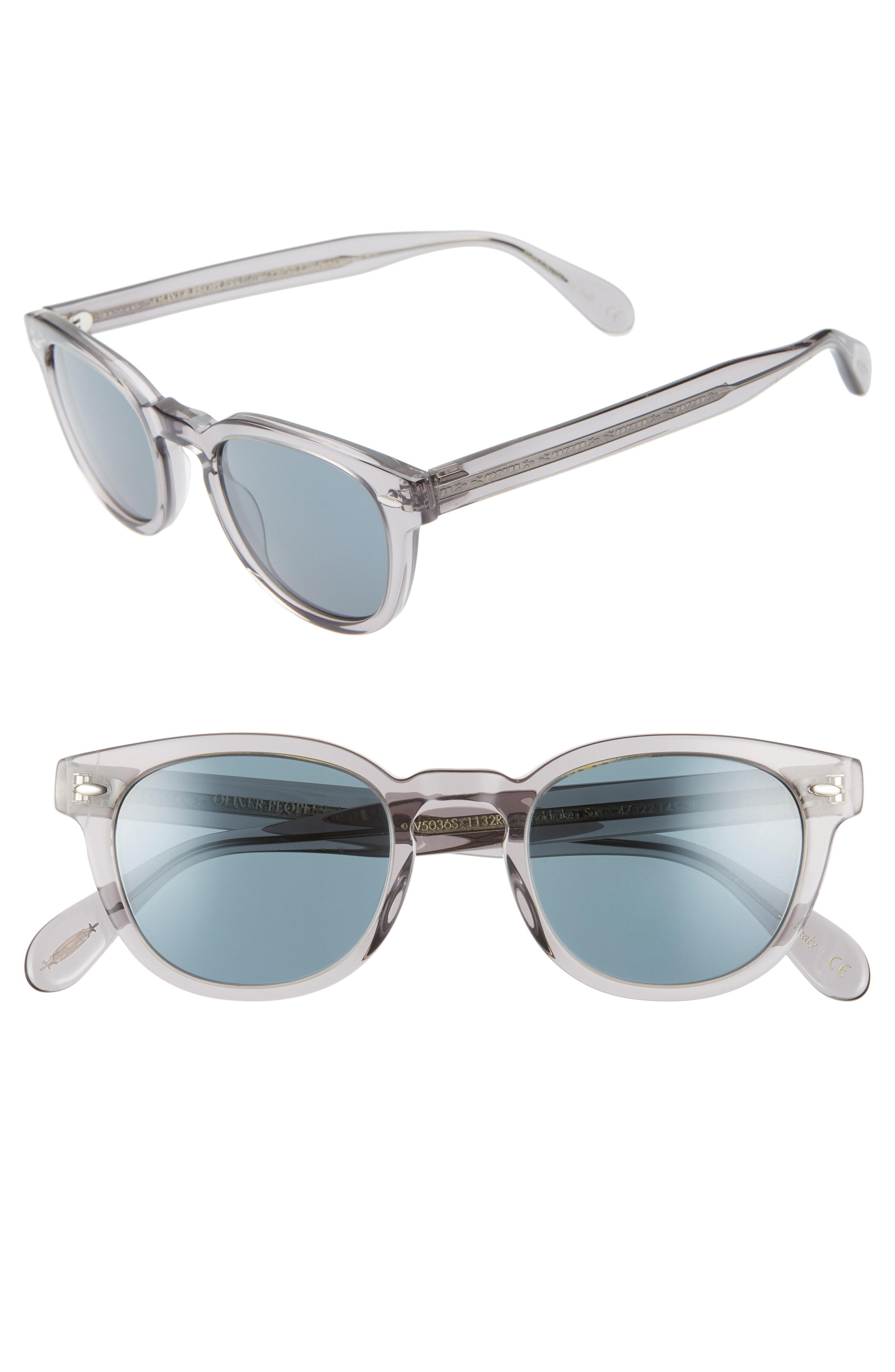 a6a31d1b33 Lyst - Oliver Peoples Sheldrake 47mm Sunglasses - Workman Grey in ...