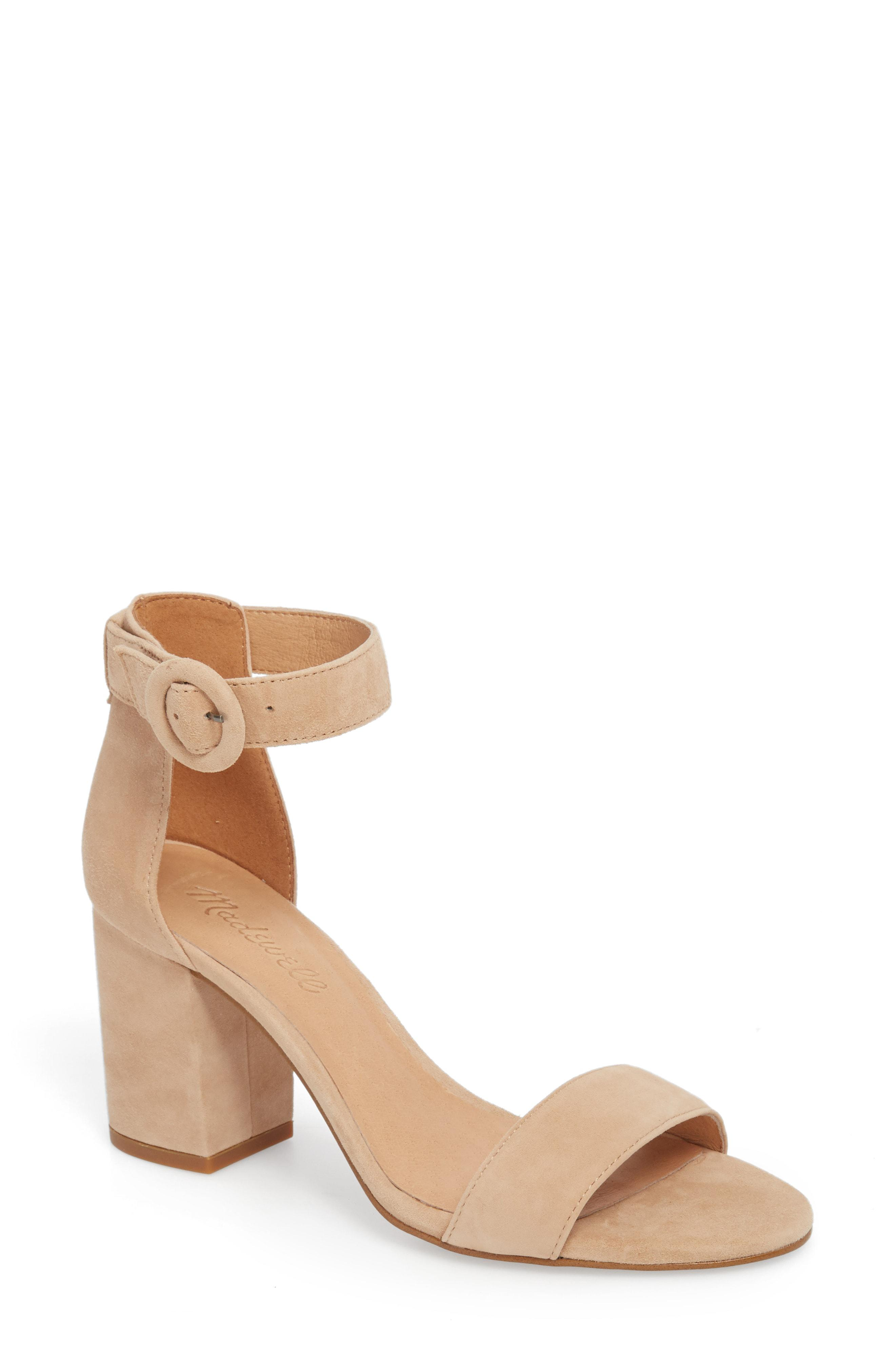 94894b083f5 Lyst - Madewell The Regina Ankle Strap Sandal