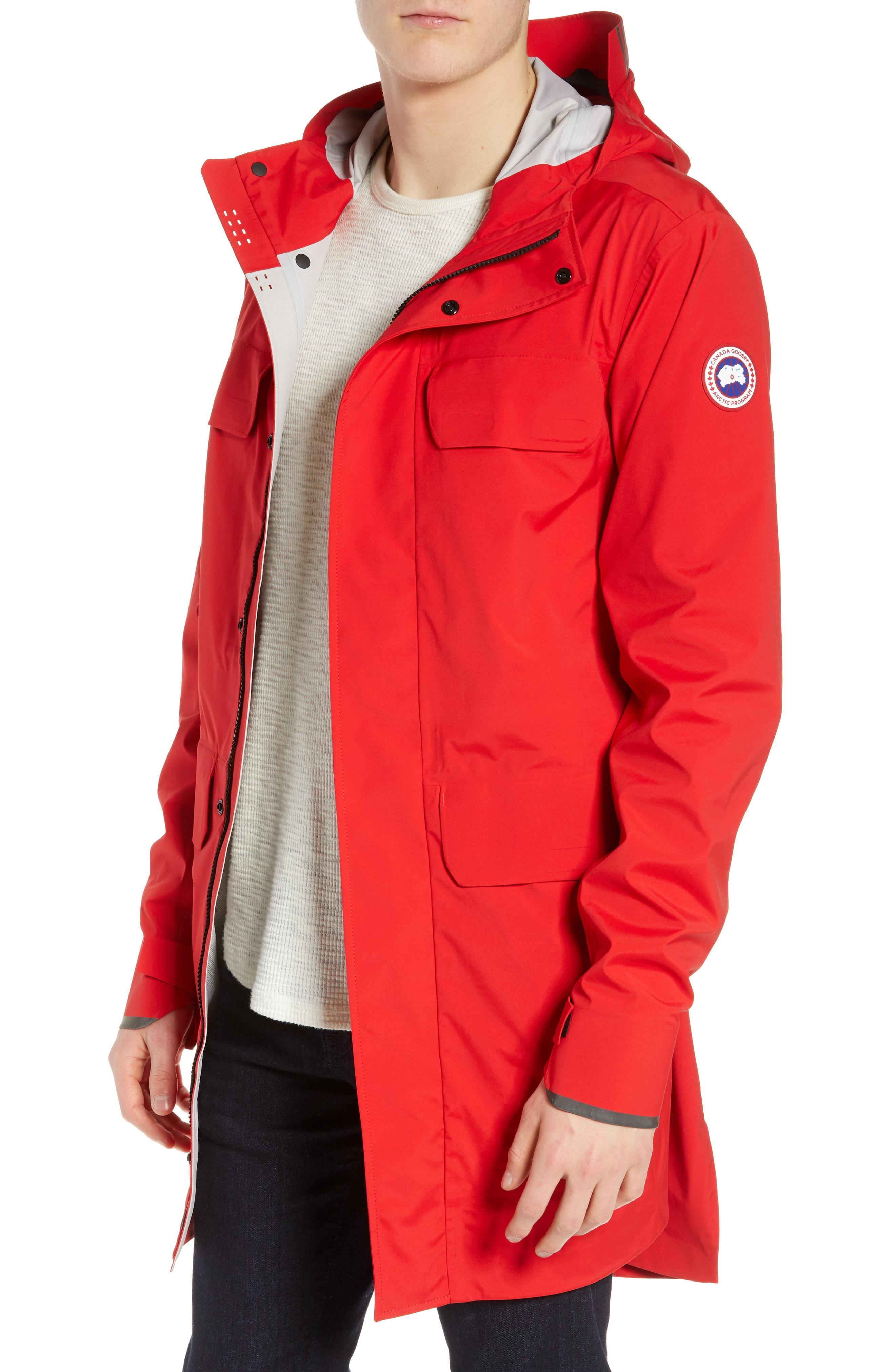 ac541fac2 Canada Goose Seawolf Regular Fit Packable Waterproof Jacket, Red in ...