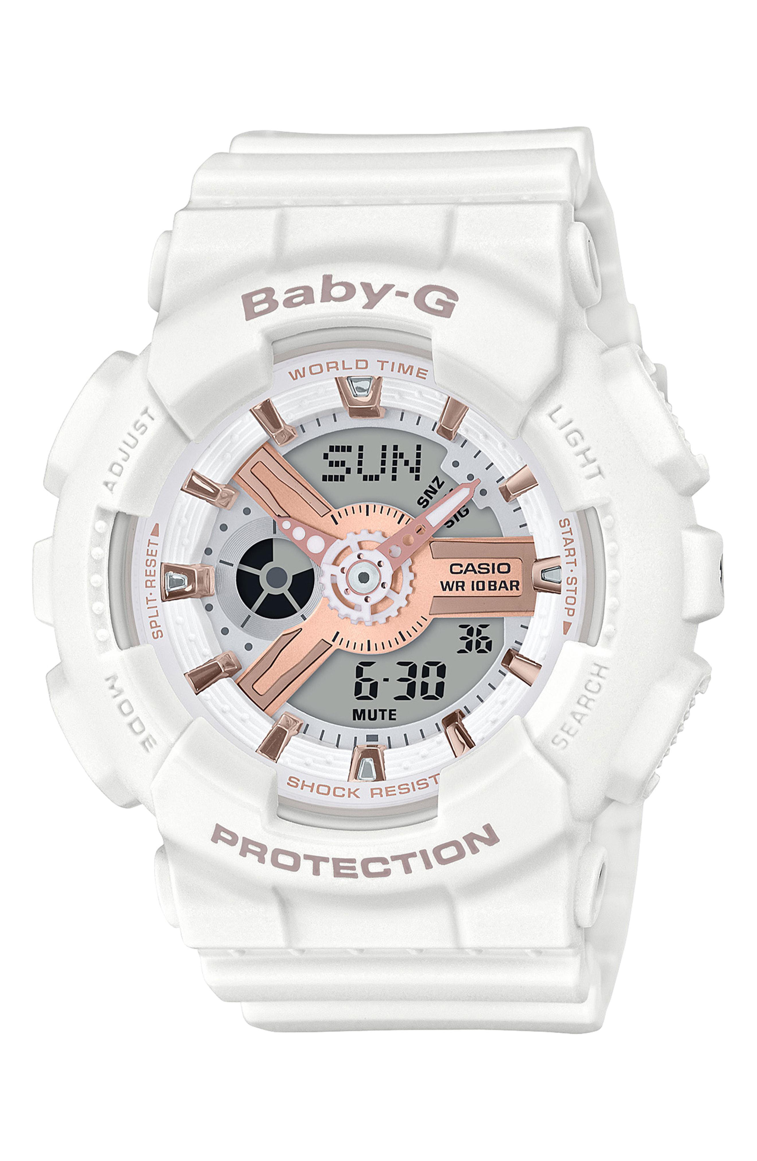 13d2e380a0ba Lyst - G-Shock Baby-g Ana-digi Watch