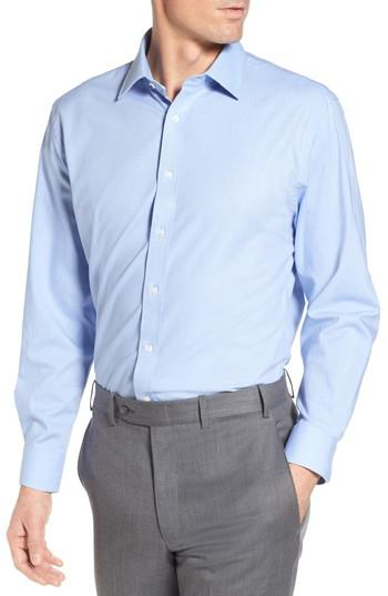 Lyst nordstrom tech smart traditional fit solid dress for Nordstrom custom dress shirts