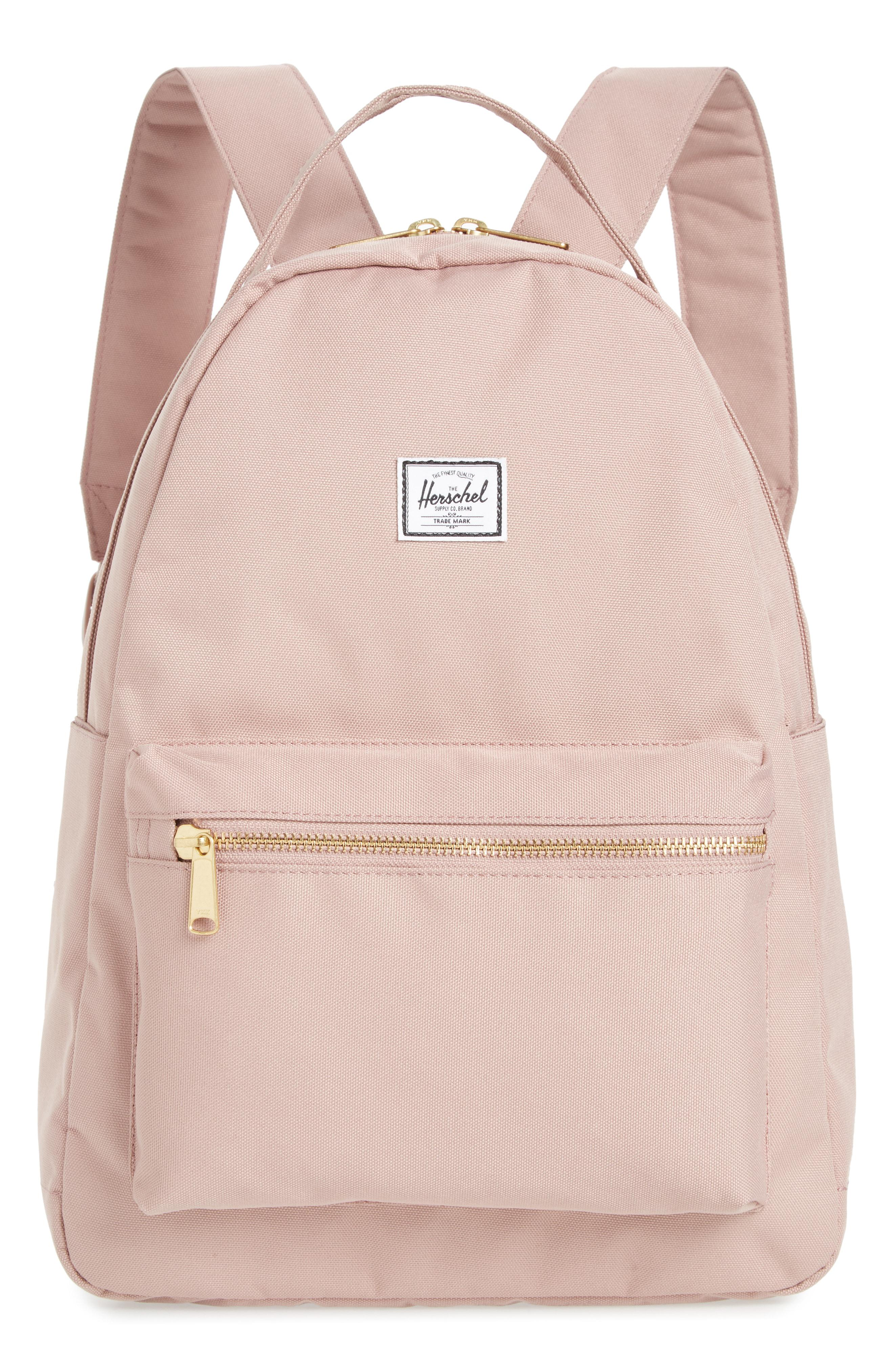 Lyst - Herschel Supply Co. Nova Mid Volume Backpack in Pink 0a29df7a2b4b1