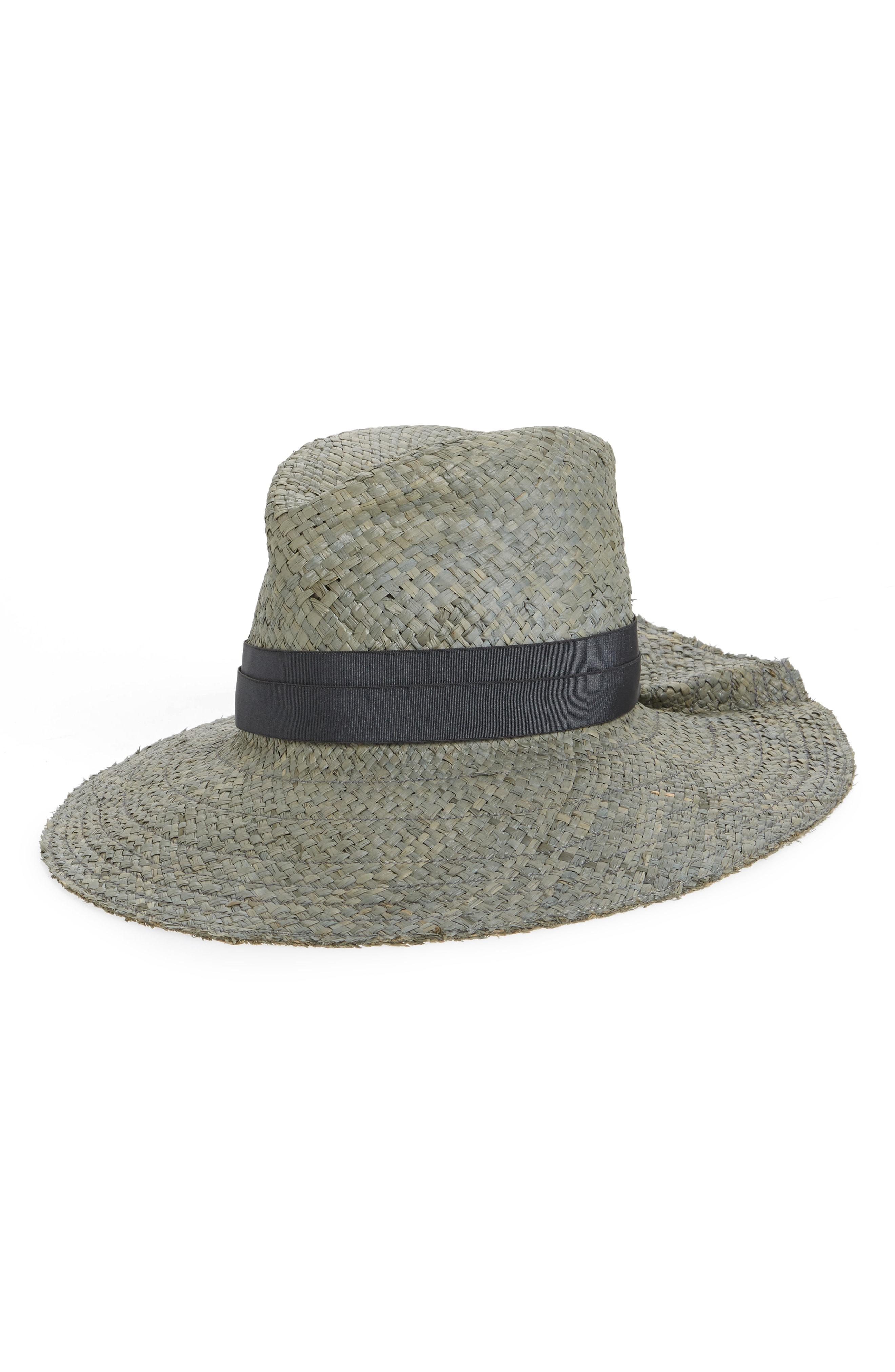 ff5ef6c1928 Lyst - Lola Hats First Aid Snap Straw Hat - in Gray