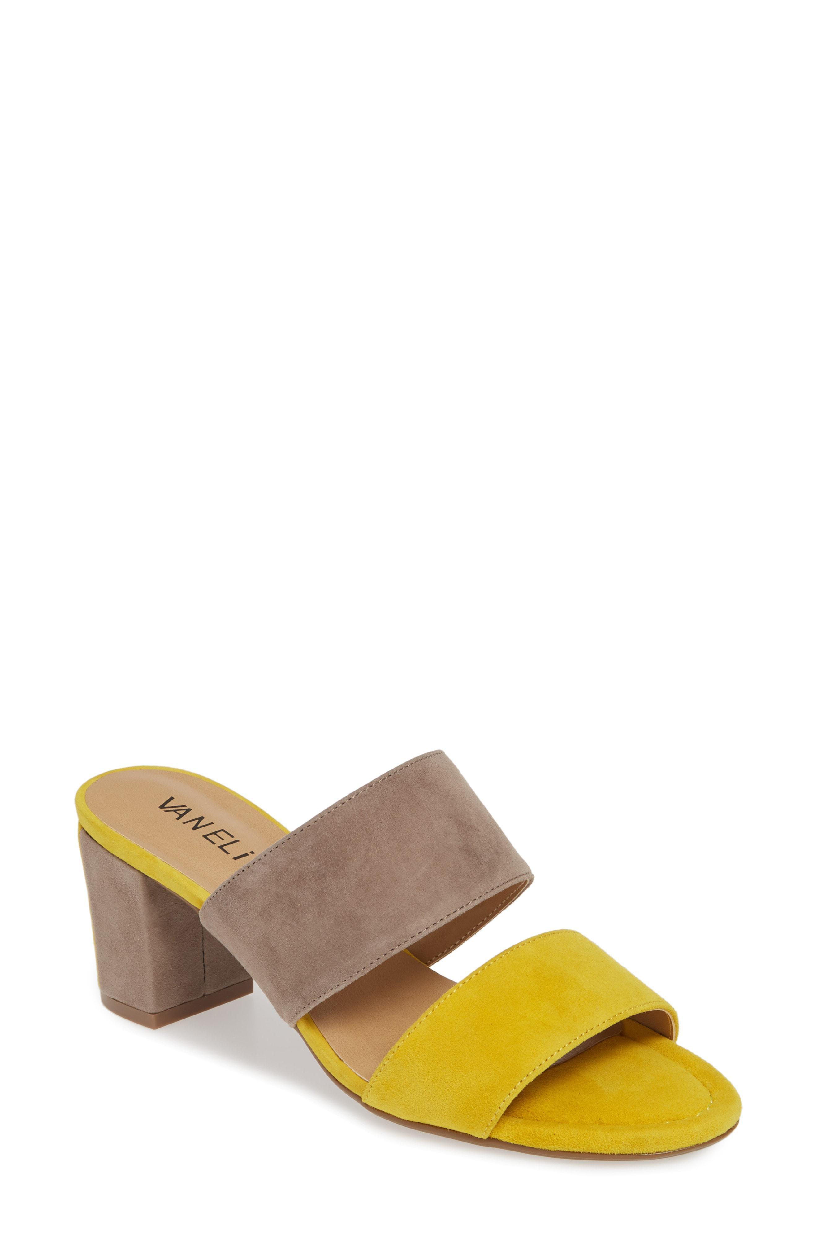 316c11a6253 Lyst - Vaneli Matida Slide Sandal in Brown