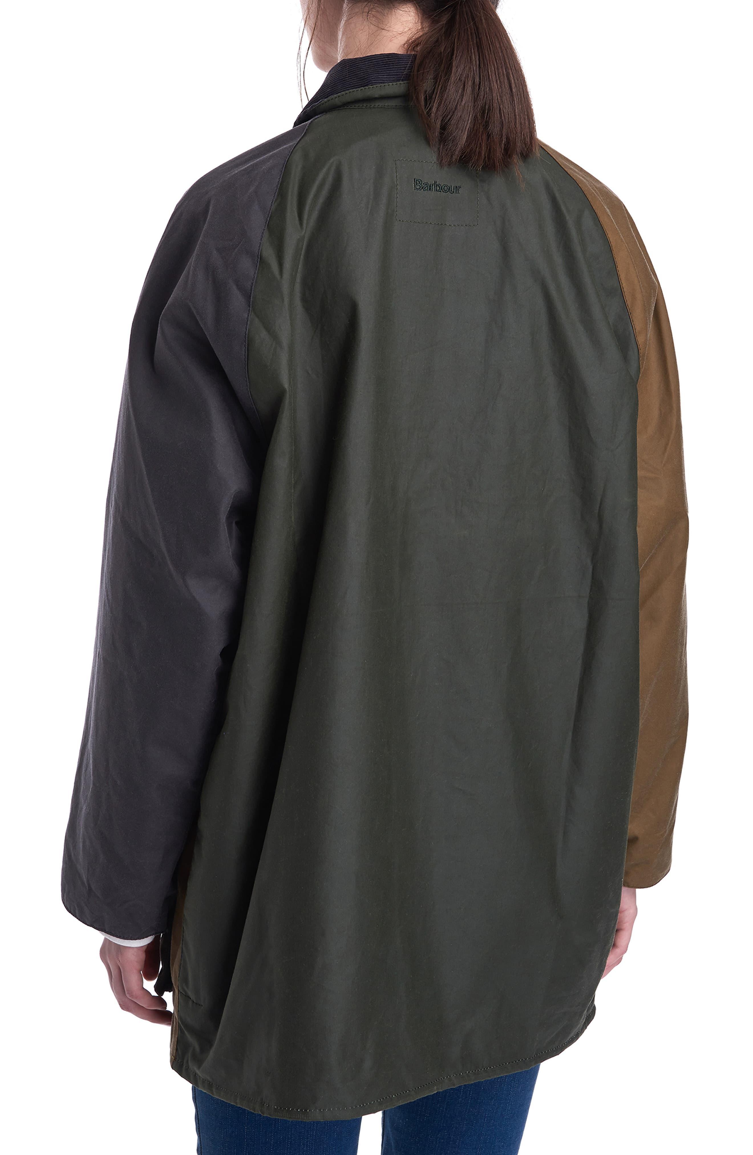 0f621b98f18a9 Barbour - Black X Alexa Chung Patch Weatherproof Waxed Cotton Jacket -  Lyst. View fullscreen