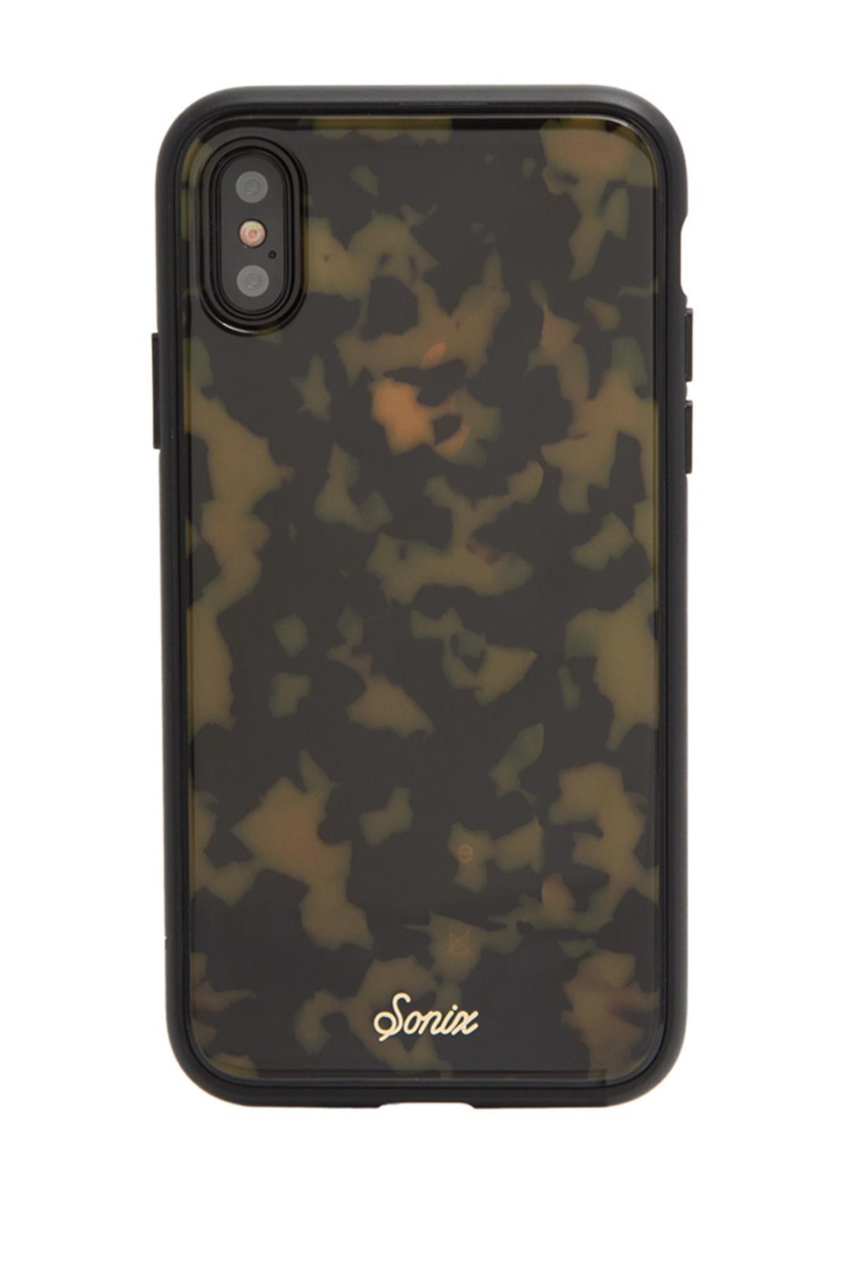 detailed look b74f8 4b33e Sonix - Multicolor Tortoise Print Iphone X Case - Lyst