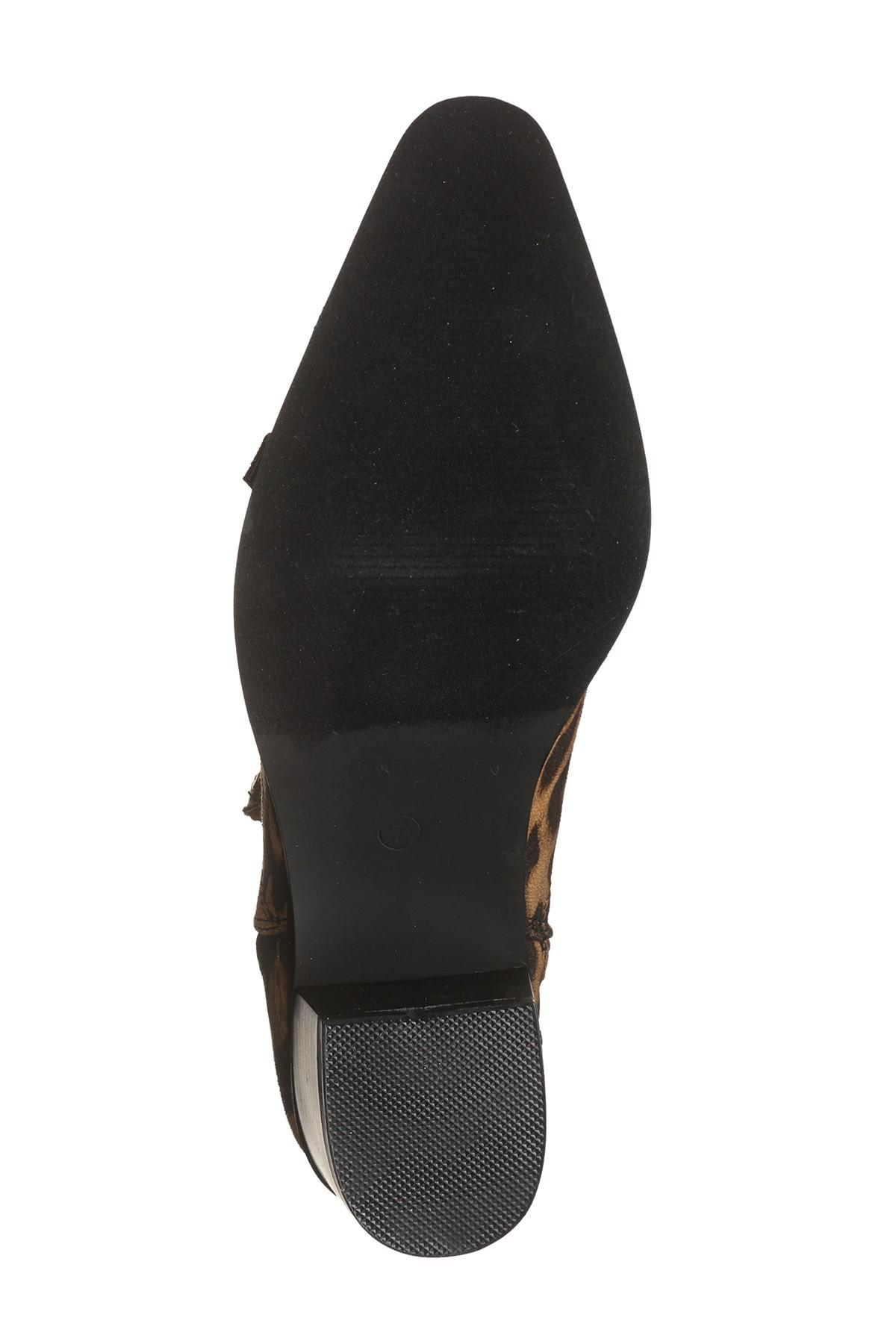 62d9c8e54f8 Cape Robbin - Brown Moto Pointy Toe Ankle Boot - Lyst. View fullscreen