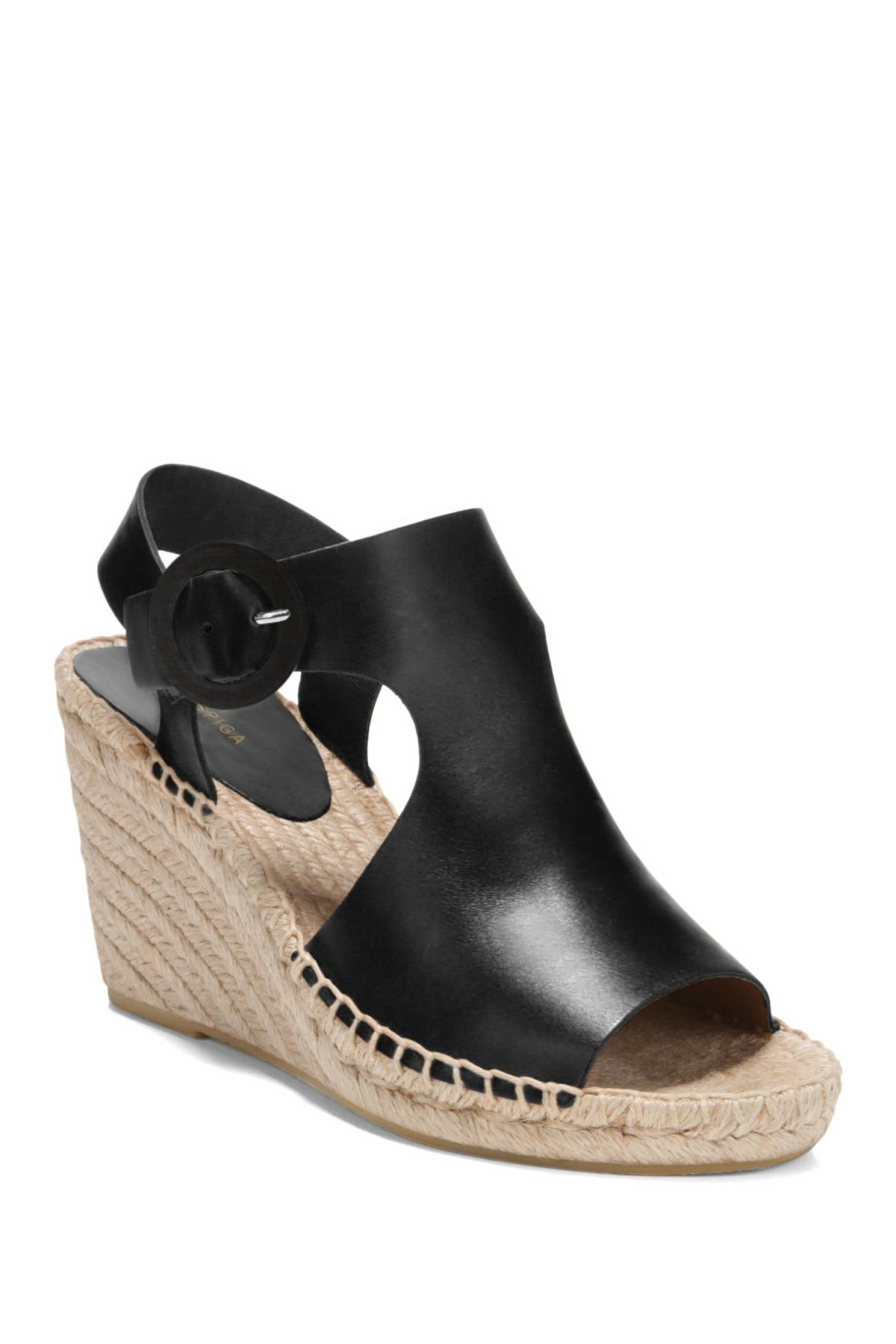 60805b7ddd05 Lyst - Via Spiga Women s Nolan Espadrille Wedge Heel Sandals in ...