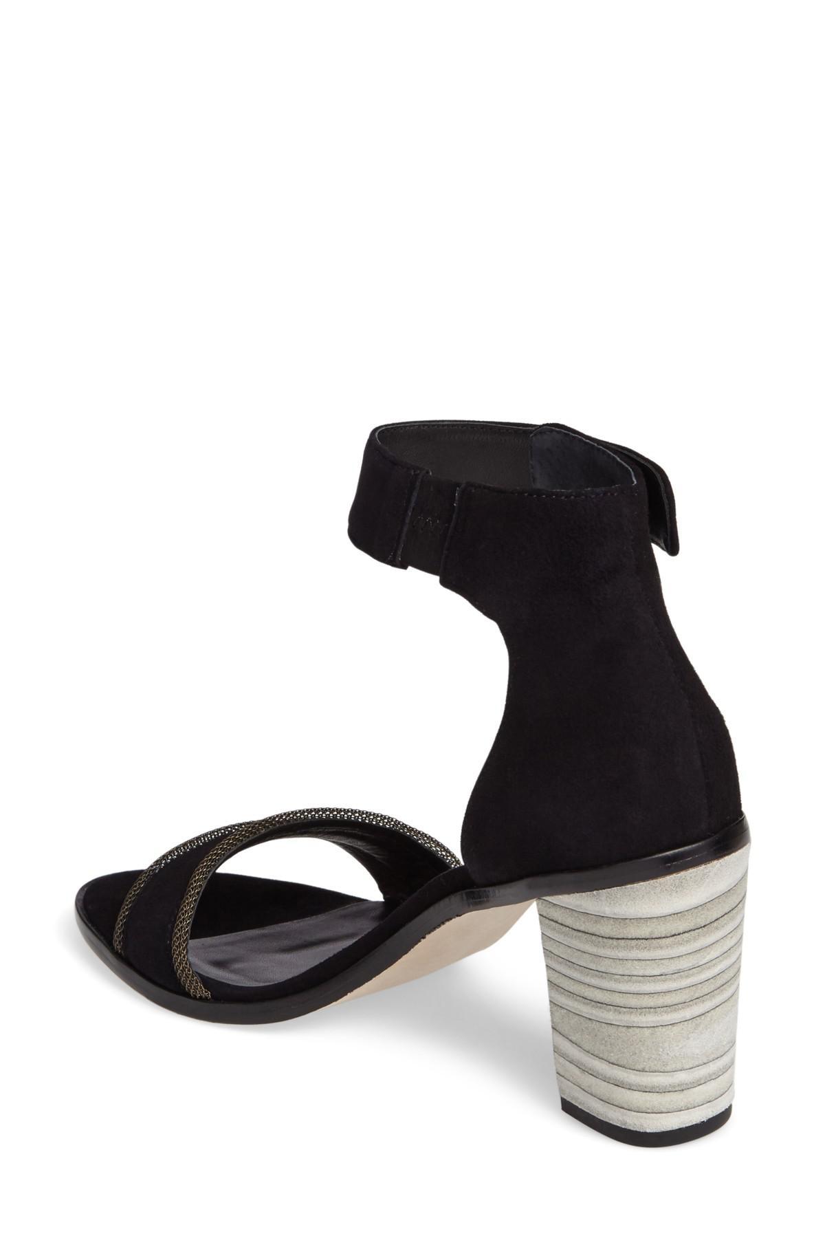 b58c75c850f Lyst - Bernardo Hayden Ankle Strap Sandal in Black