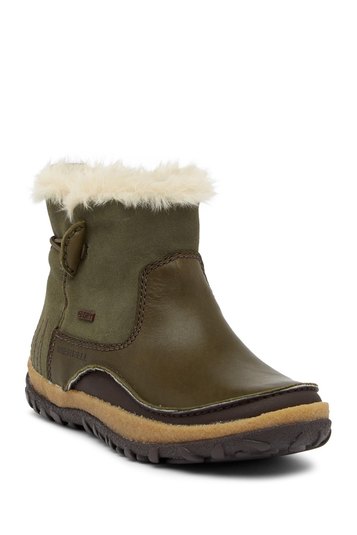 Merrell Tremblant Faux Fur Trimmed Pull-On Waterproof Boot RmMVt1qQI