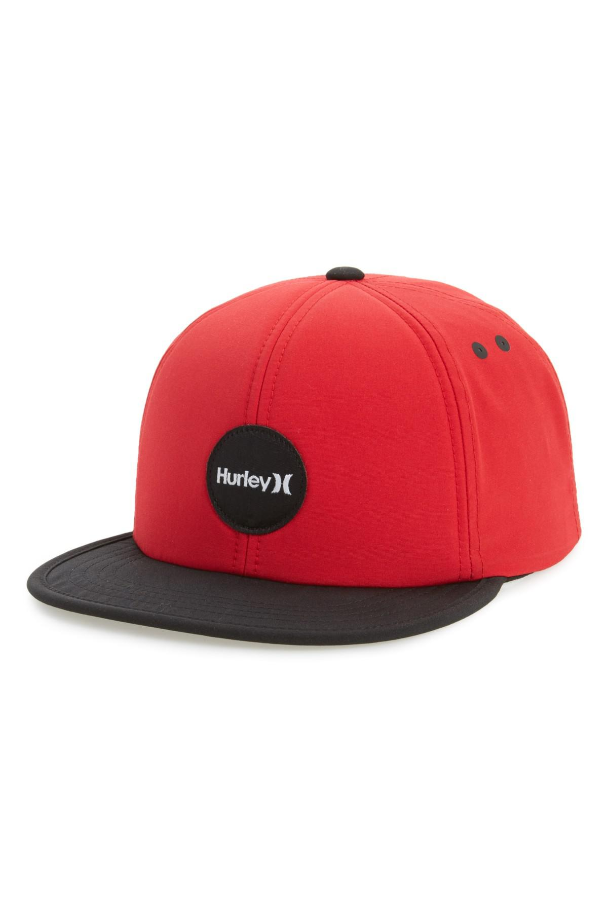61f55ccc where to buy lyst hurley pacific hats snapback baseball cap in red for men  3a84c b44f5