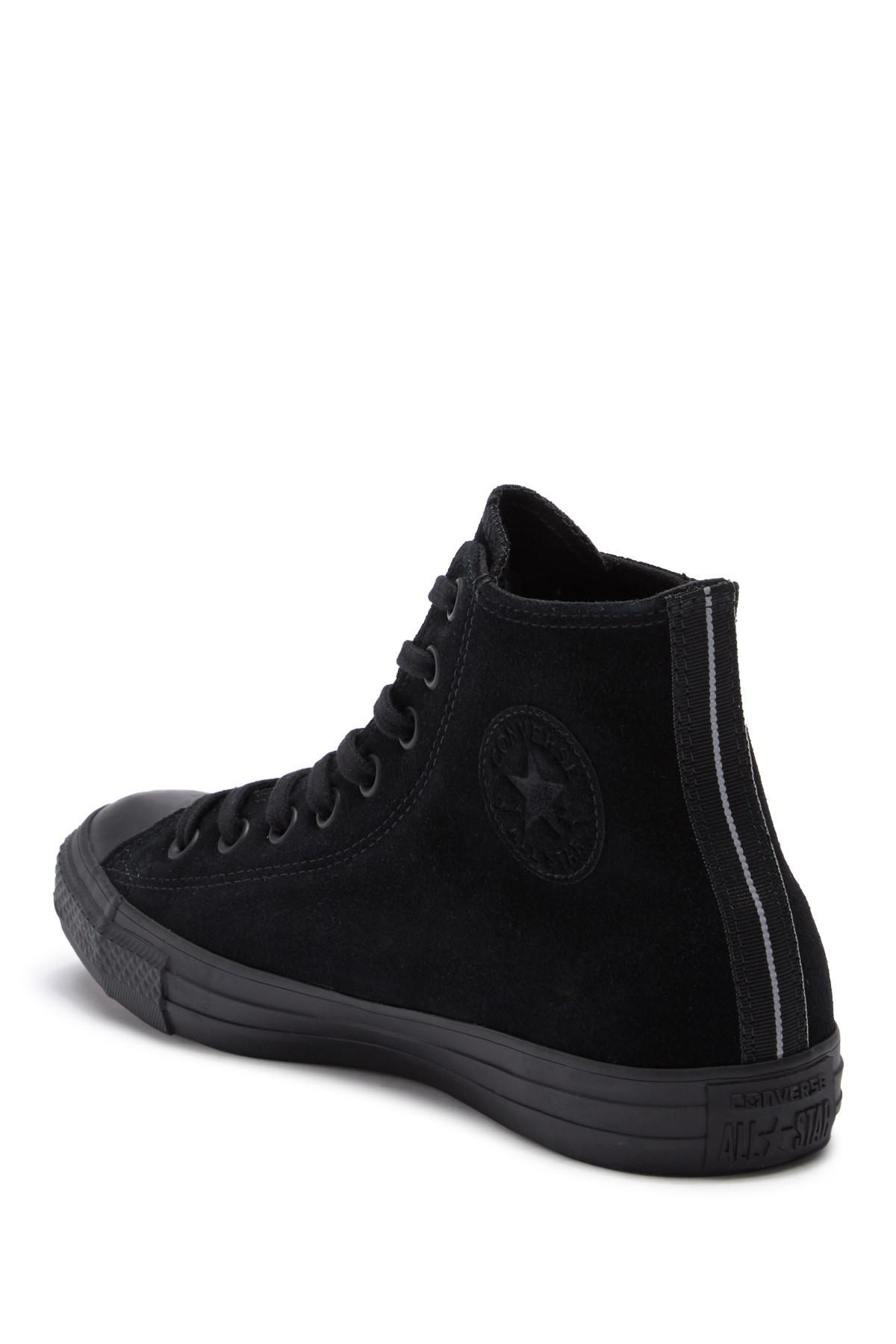 47d379de4c2a49 Lyst - Converse Chuck Taylor All Star Suede High Top Sneaker (unisex ...