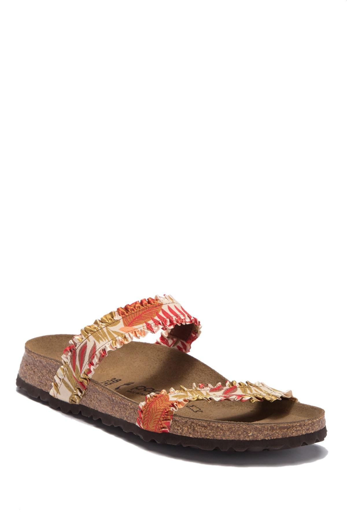 3ba2a2addb2a Lyst - Birkenstock Curacao Slide Sandal - Discontinued in Brown