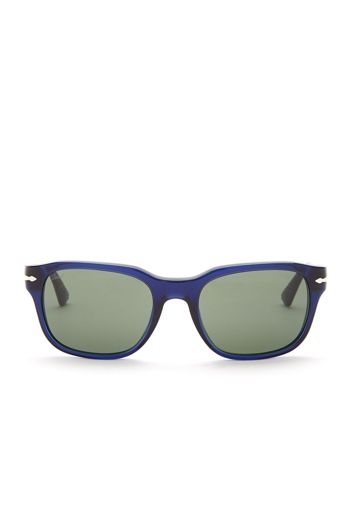 1f76ea6842 Lyst - Persol Men  39 s Film Noir Acetate Sunglasses in Blue for Men