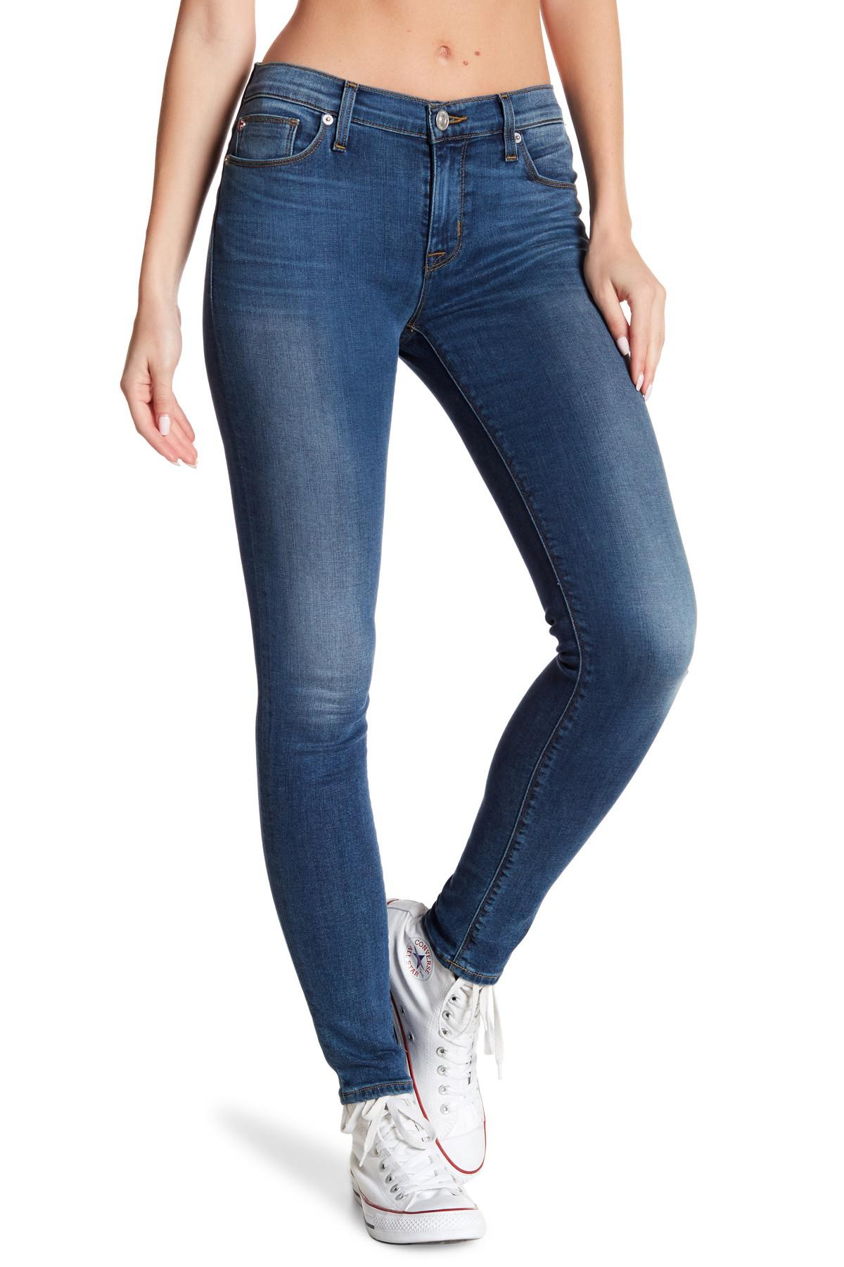 Skinny Jegging - Blue Ouvre Fashion ElHP66s