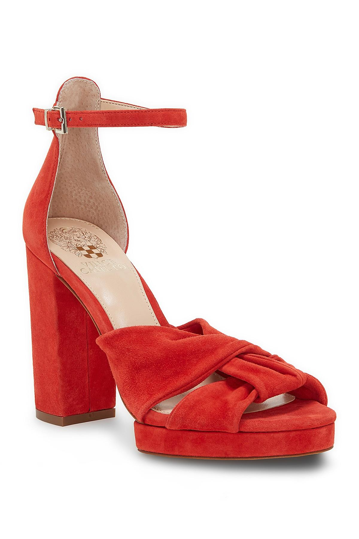5c75733c491b Lyst - Vince Camuto Corlesta Sandal in Red