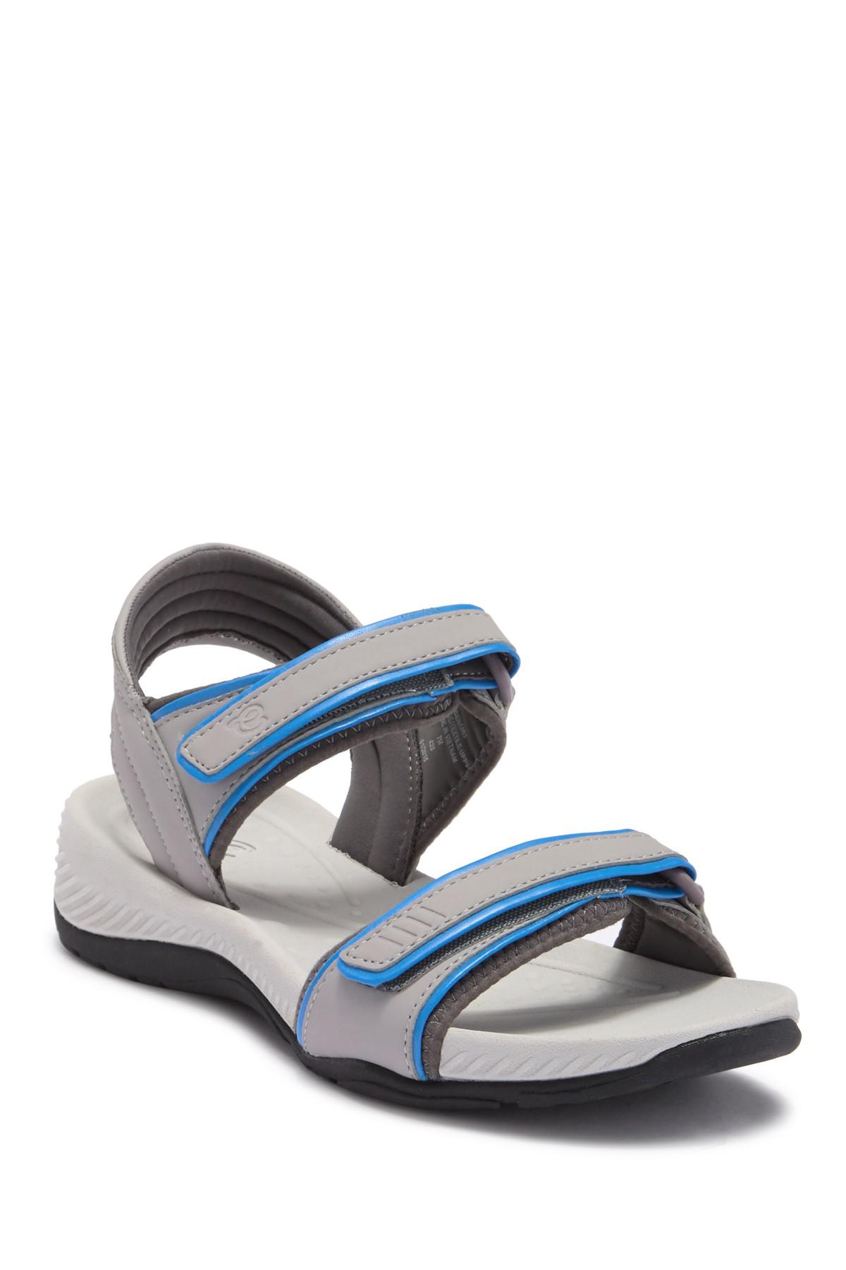 28b85bd5bf84 Lyst - Easy Spirit Nami 3 Sandal - Wide Width Available in Blue