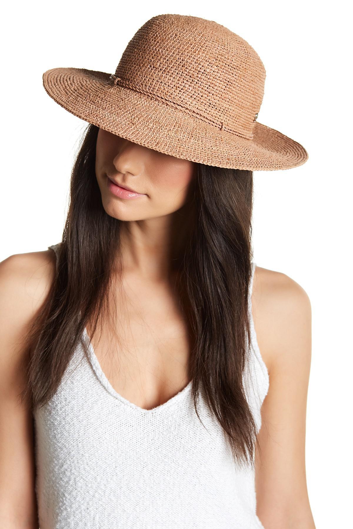 Lyst - Helen Kaminski Caicos Hat 6417d1ce16ca