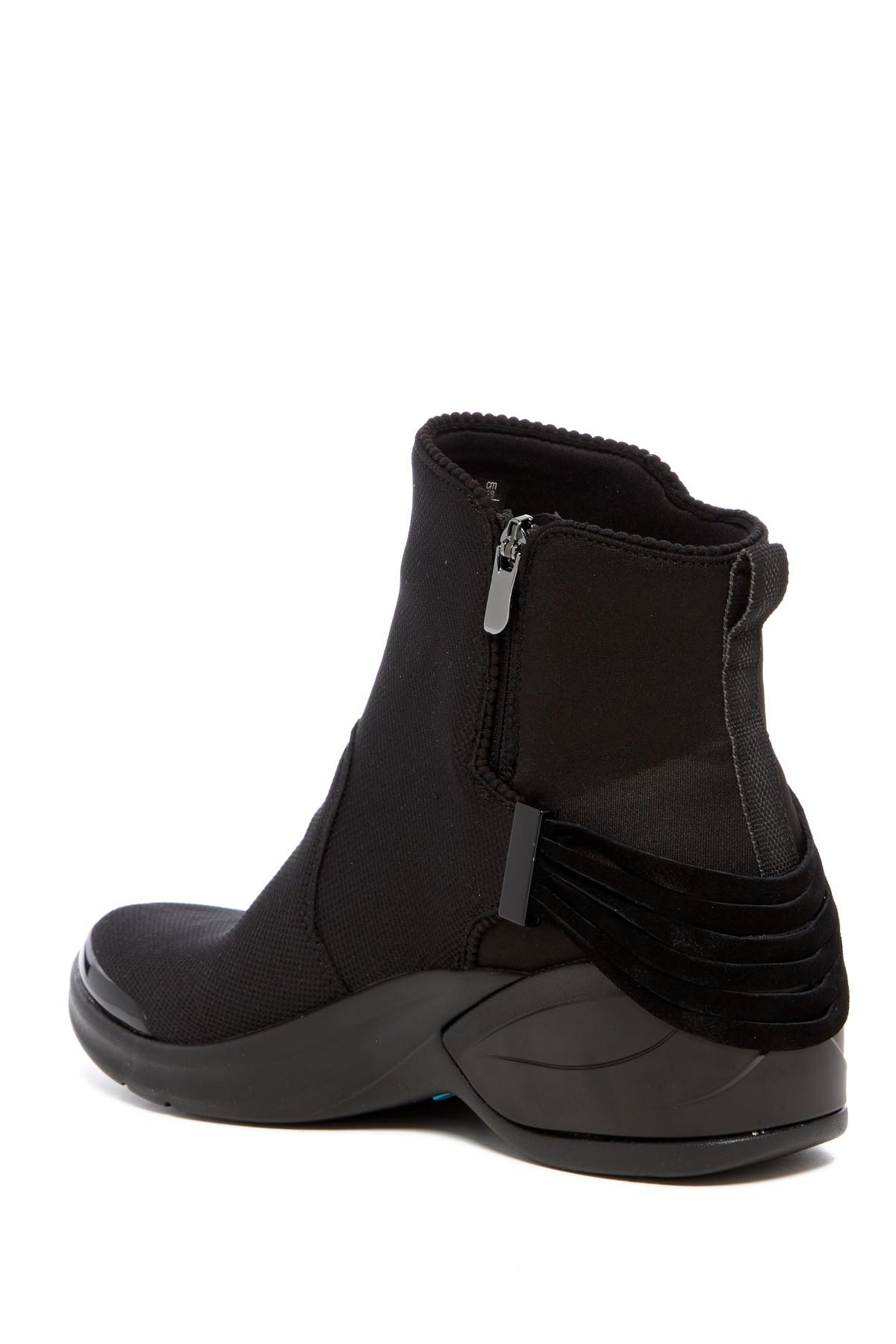 BZEES Mojo Strappy Mid Wedge Boot 6GAiF