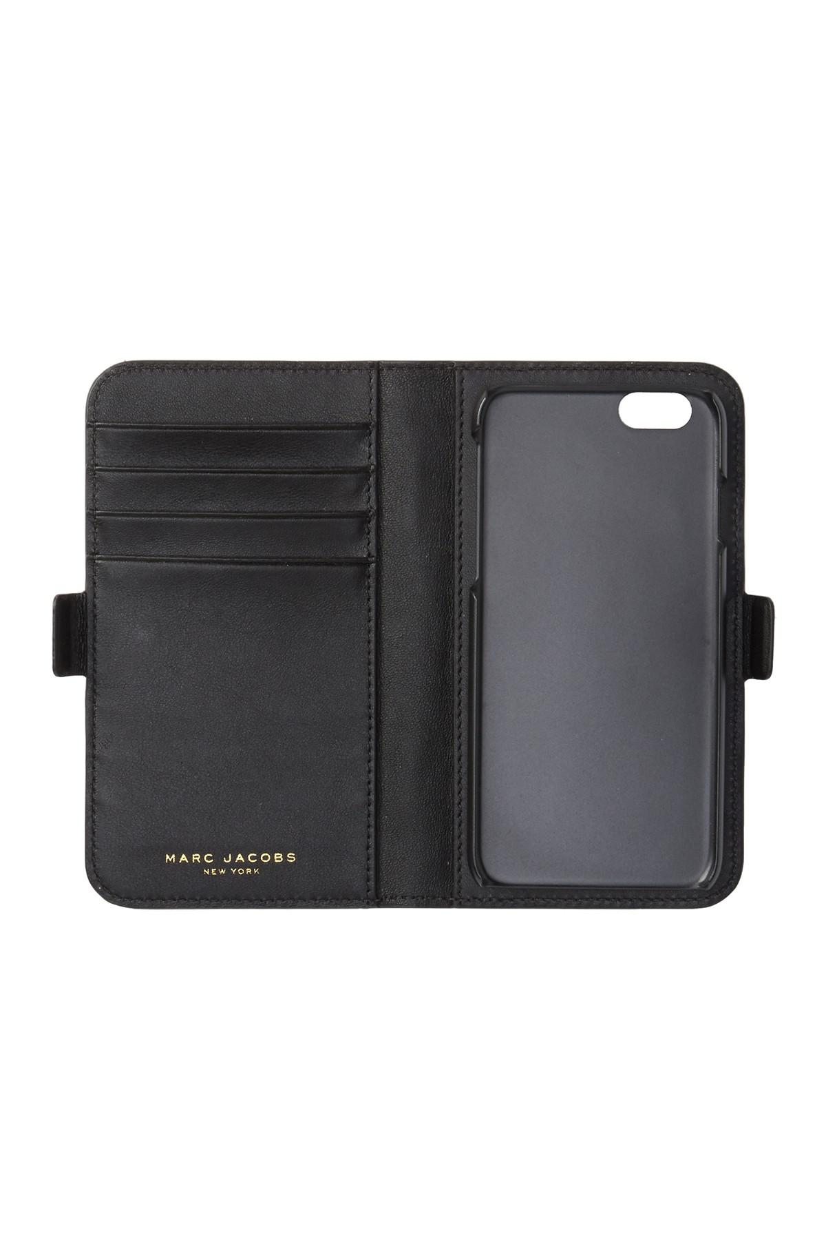 5cd3f22009400 Lyst - Marc Jacobs Landscape Tech Iphone 6 6s Wallet