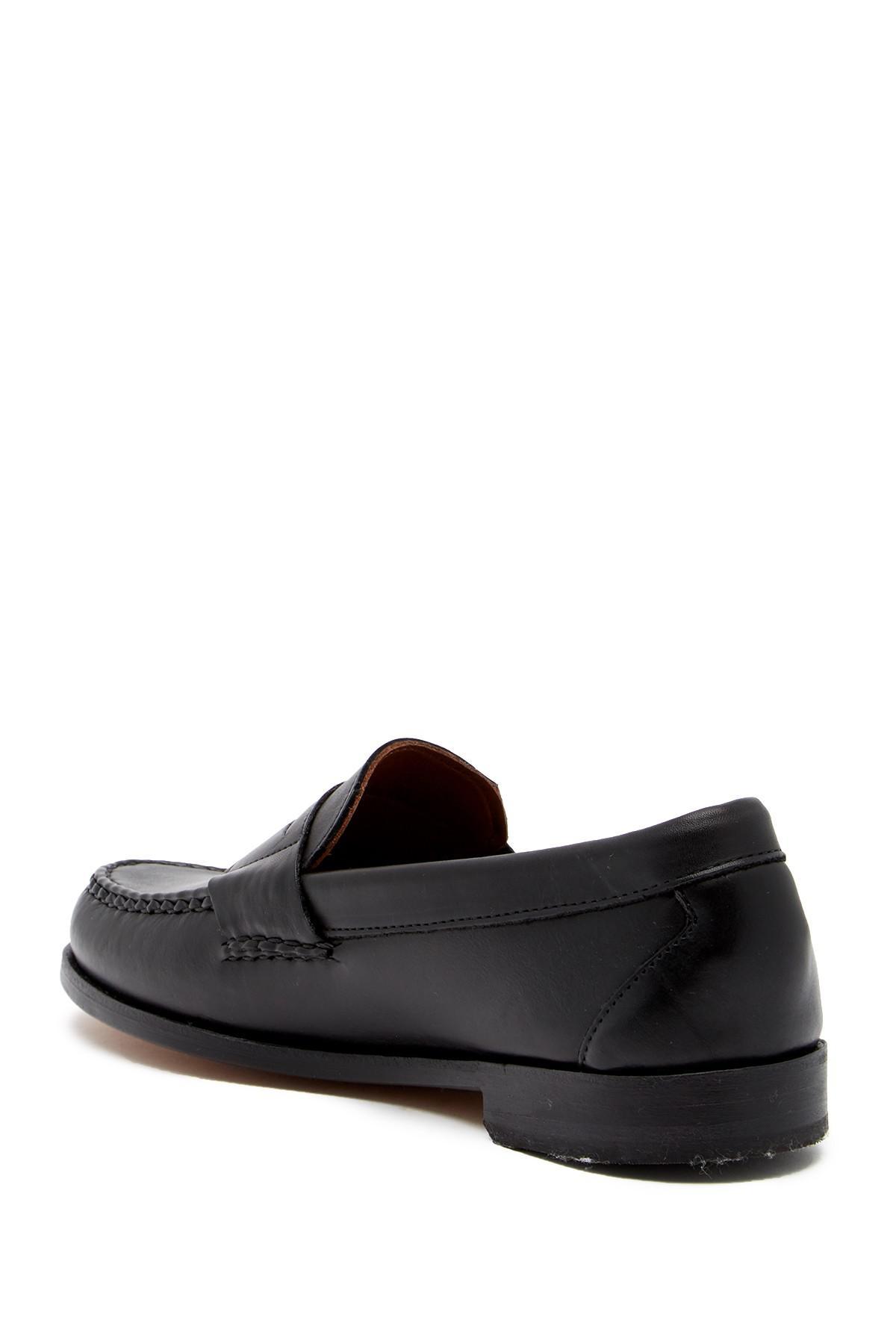 76d33cb53c6 Allen Edmonds - Black Walden Leather Loafer - Wide Width Available for Men  - Lyst. View fullscreen