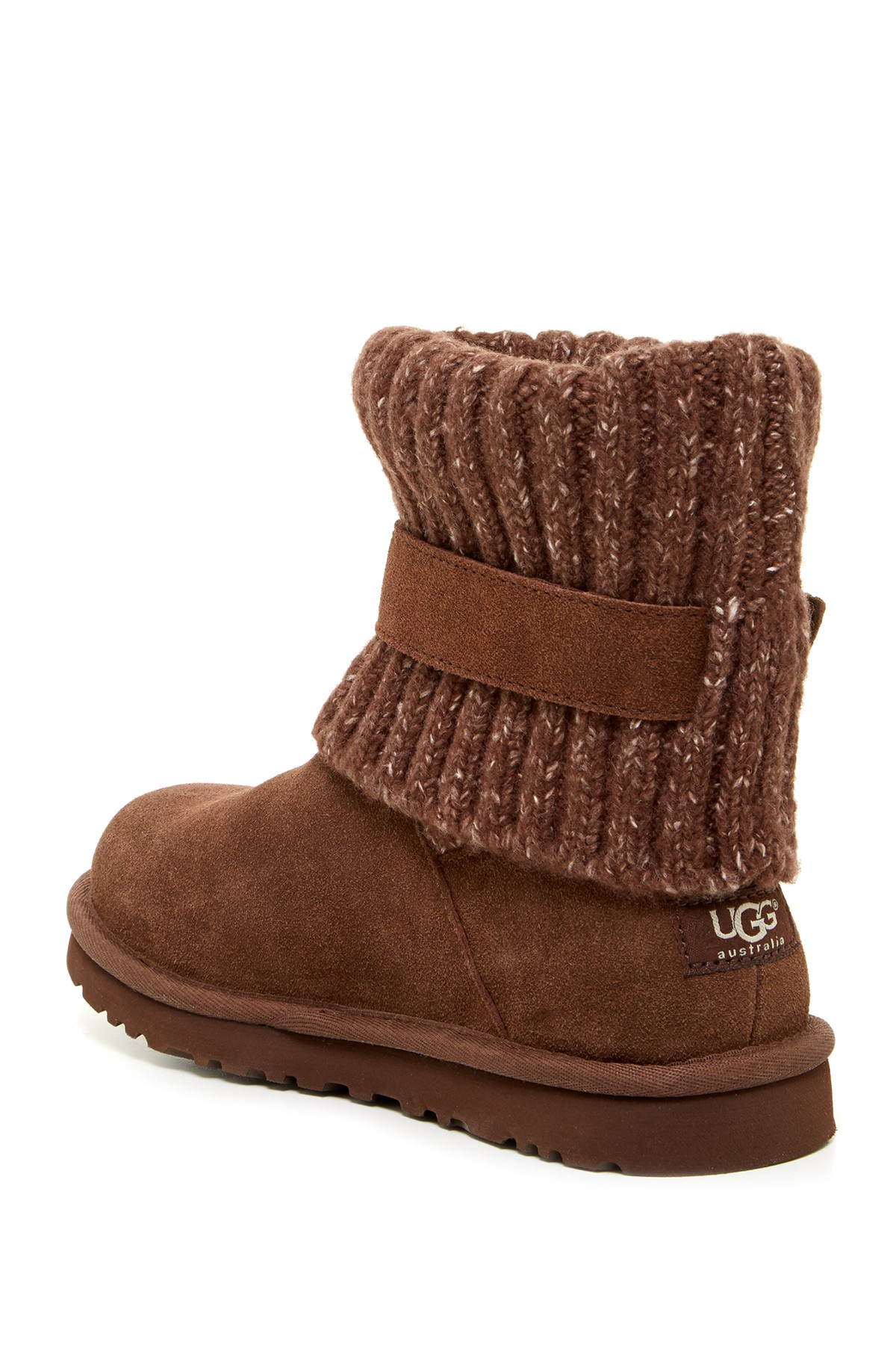 6d1d5ad6d78 Lyst - UGG Cambridge Knit Uggpure Lined Boot in Brown