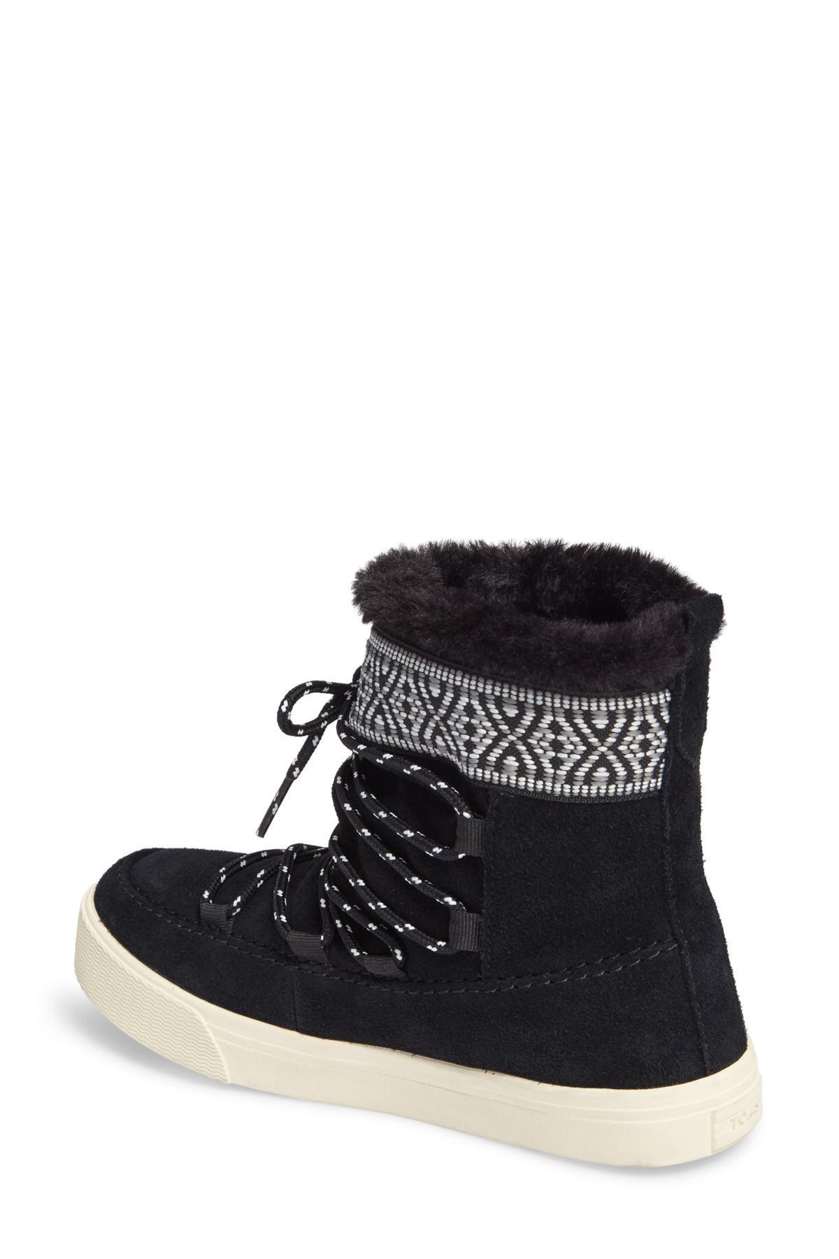 e93617053df Lyst - TOMS Alpine Boot (women) in Black - Save 51%