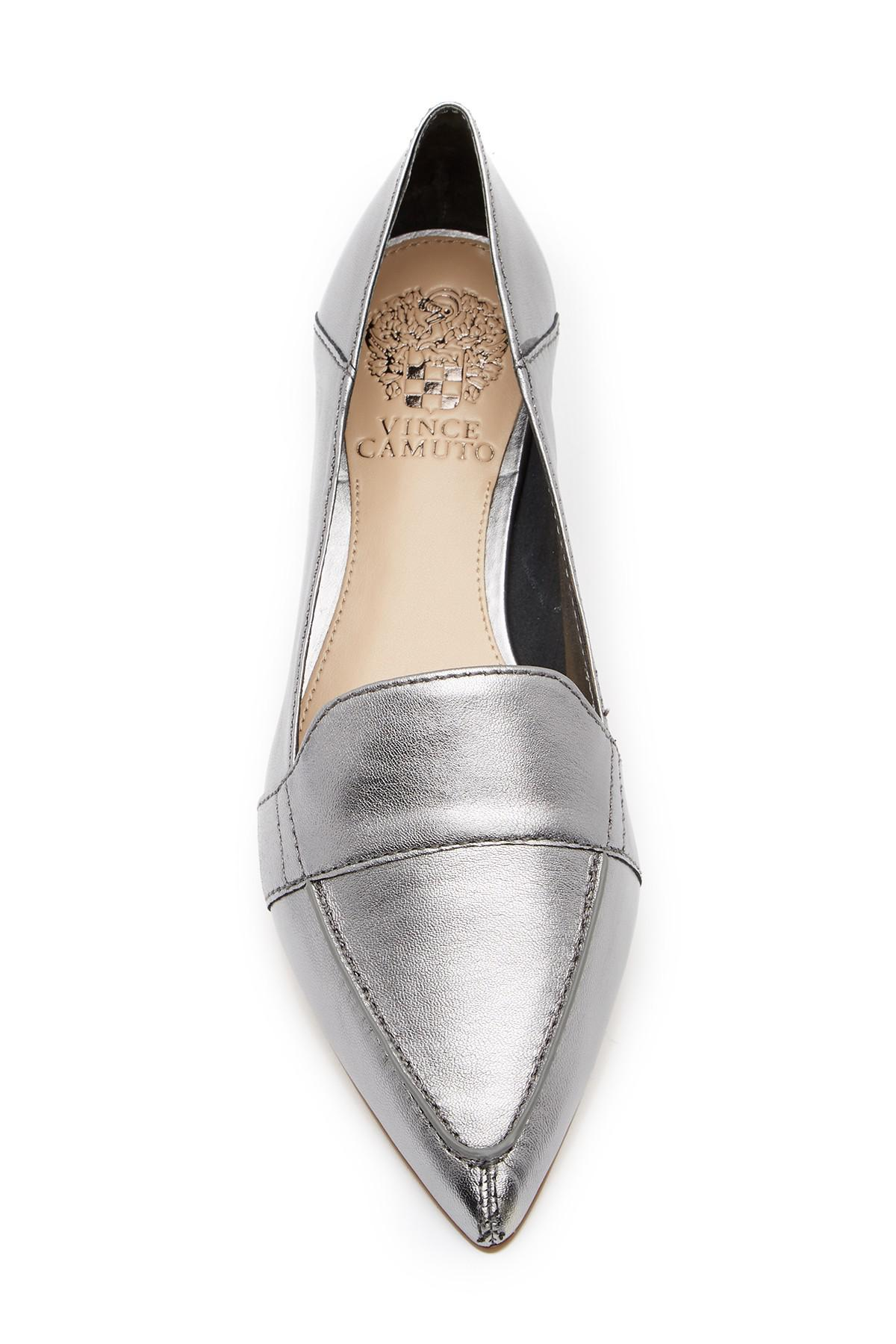 218b95c6fa6 Vince Camuto - Multicolor Maita Pointed Toe Leather Loafer - Lyst. View  fullscreen