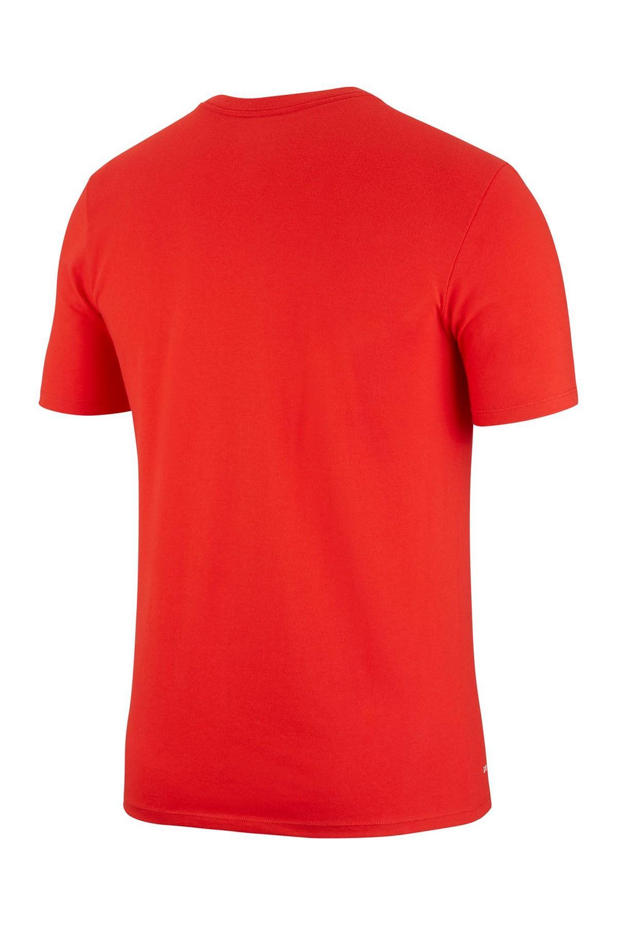 8c870c657ca Nike - Red Basketball Stats Dri-fit Tee for Men - Lyst. View fullscreen