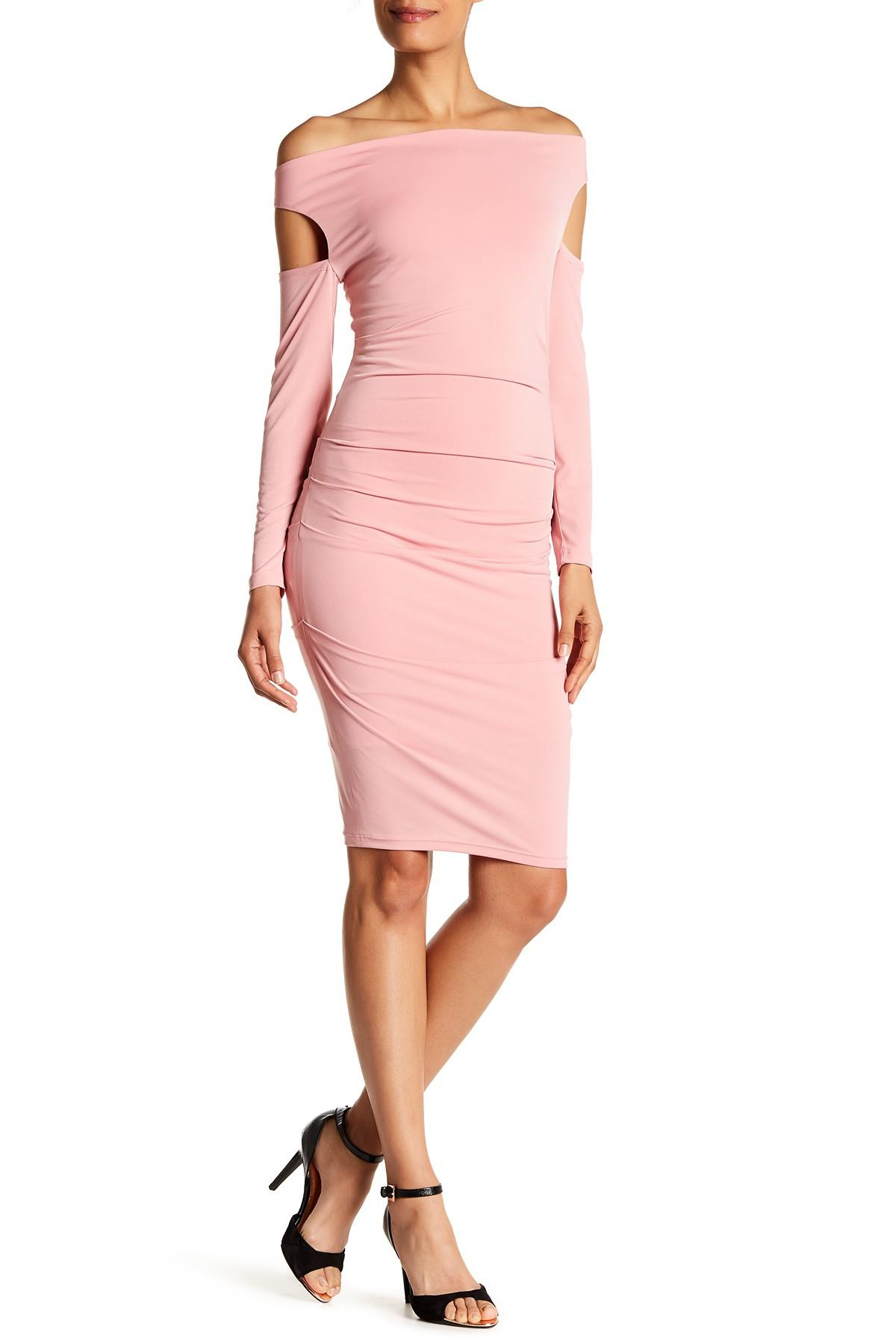 Maria bianca nero Margeaux Dress in Pink