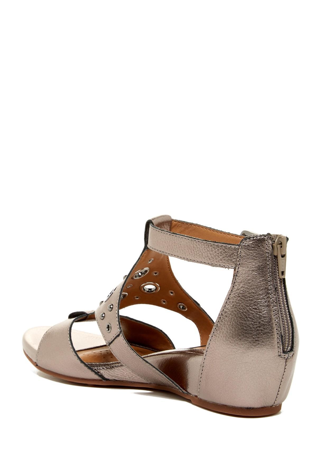 Lyst S 246 Fft Gretchen Wedge Sandal In Brown