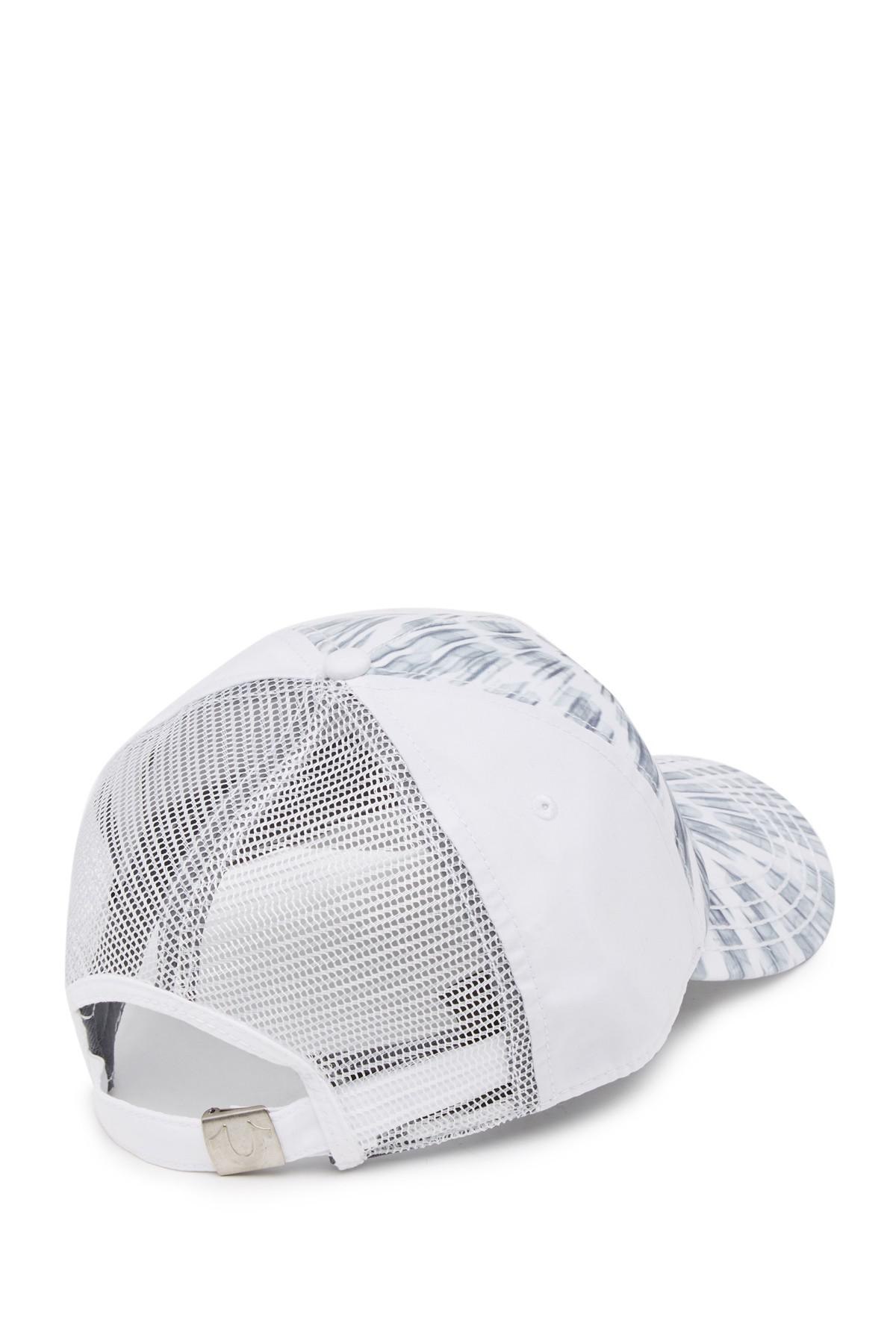 b7aef67c True Religion 3d Zoom Baseball Cap in White for Men - Lyst