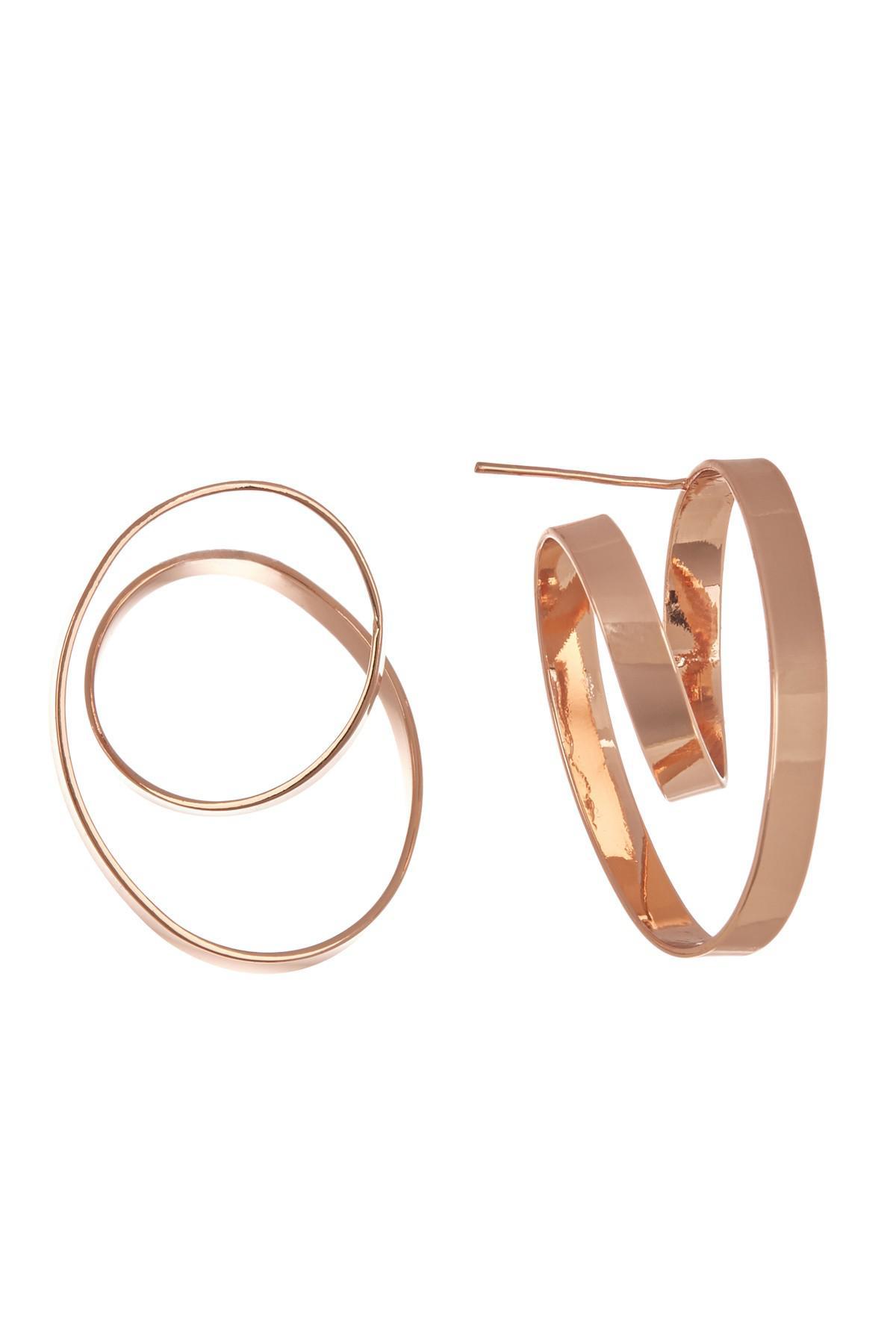 Gallery Previously Sold At Nordstrom Rack Women S Hoop Earrings