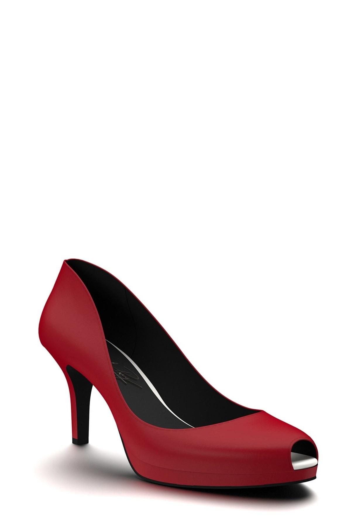 Shoes Of Prey Peep Toe
