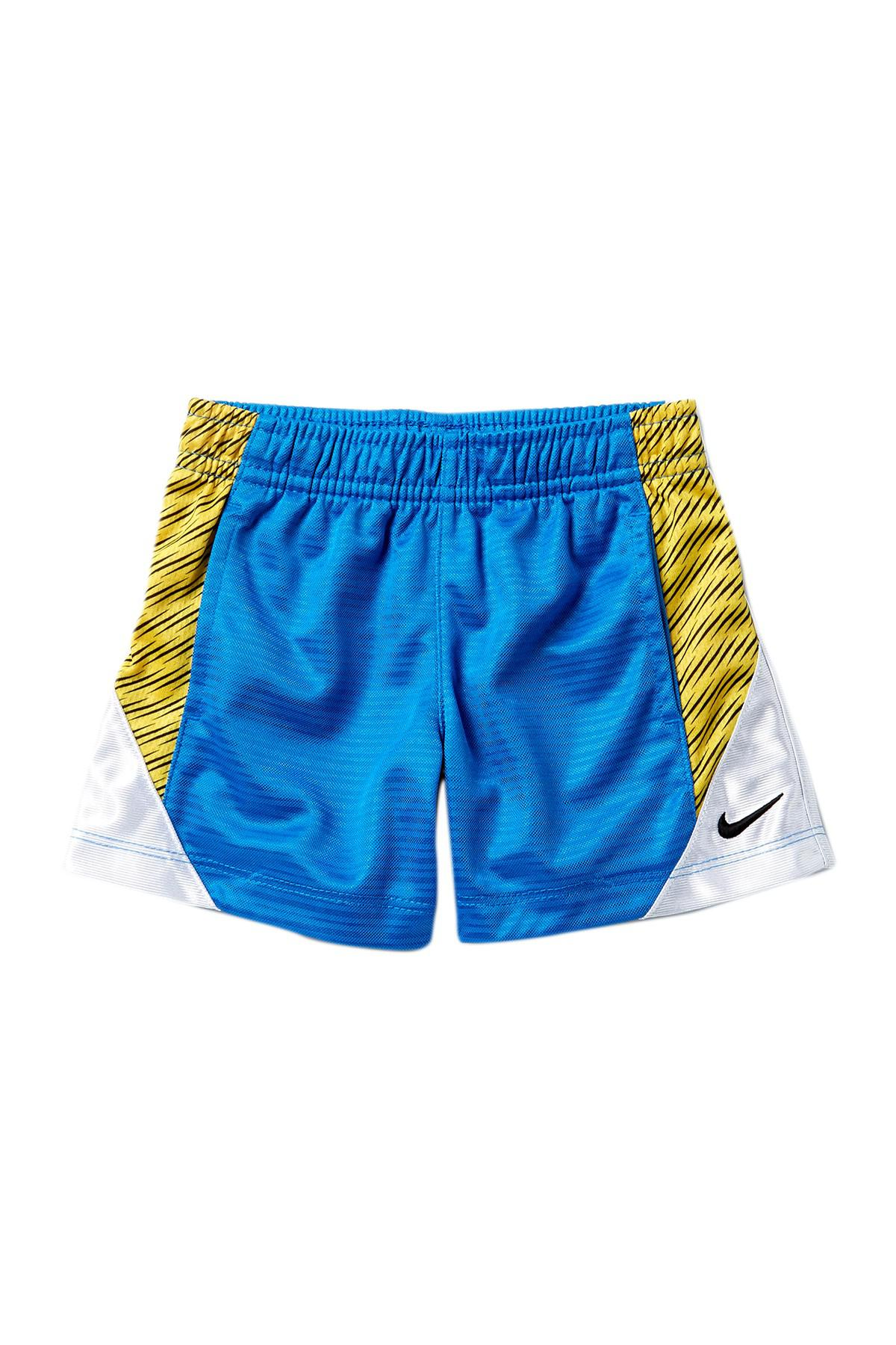 88dfcf975 Lyst - Nike Printed Basketball Shorts (baby Boys) in Blue for Men