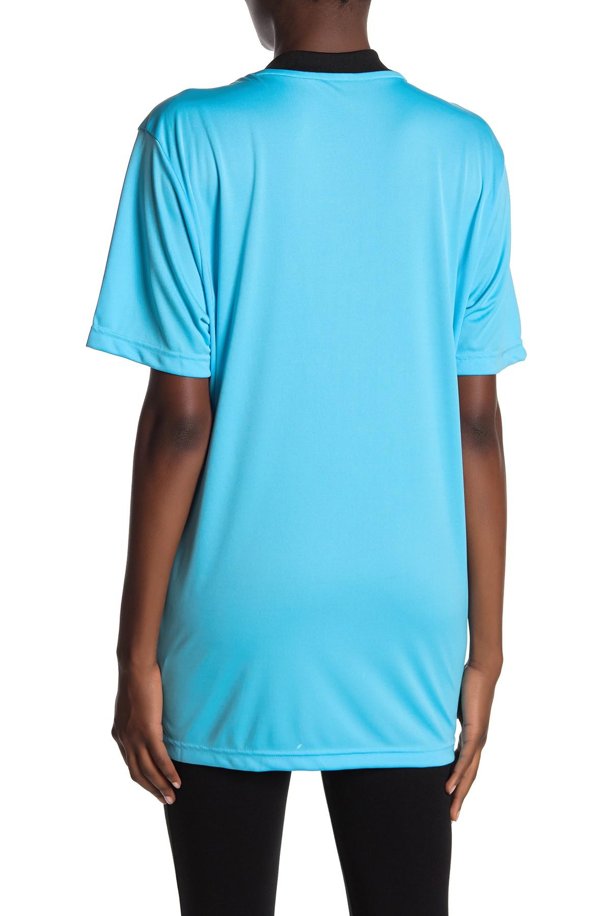 5f587cafa Lyst - adidas Referee Jersey T-shirt in Blue