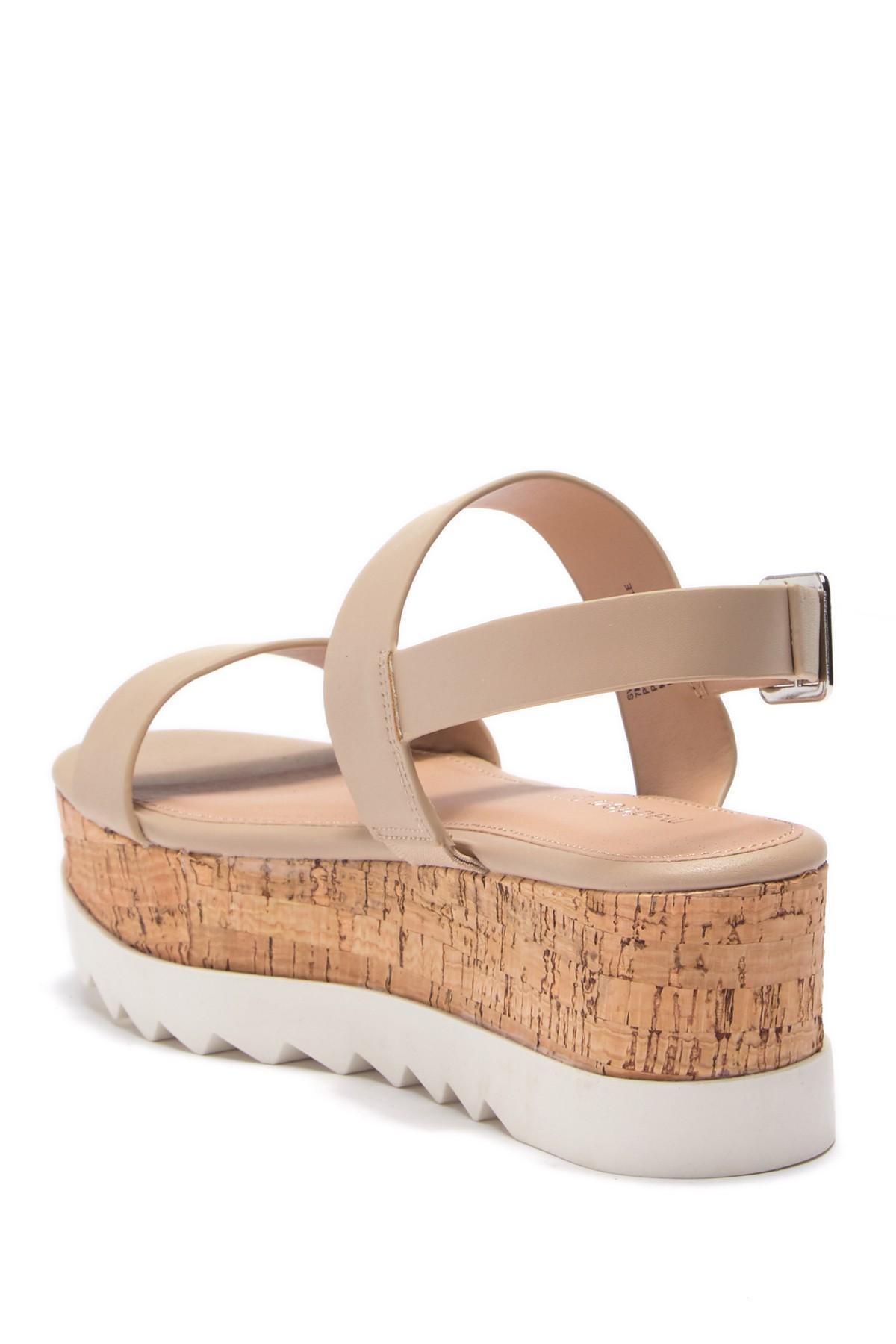 560d7a94cb4 Lyst - Madden Girl Sugar Platform Strappy Sandal