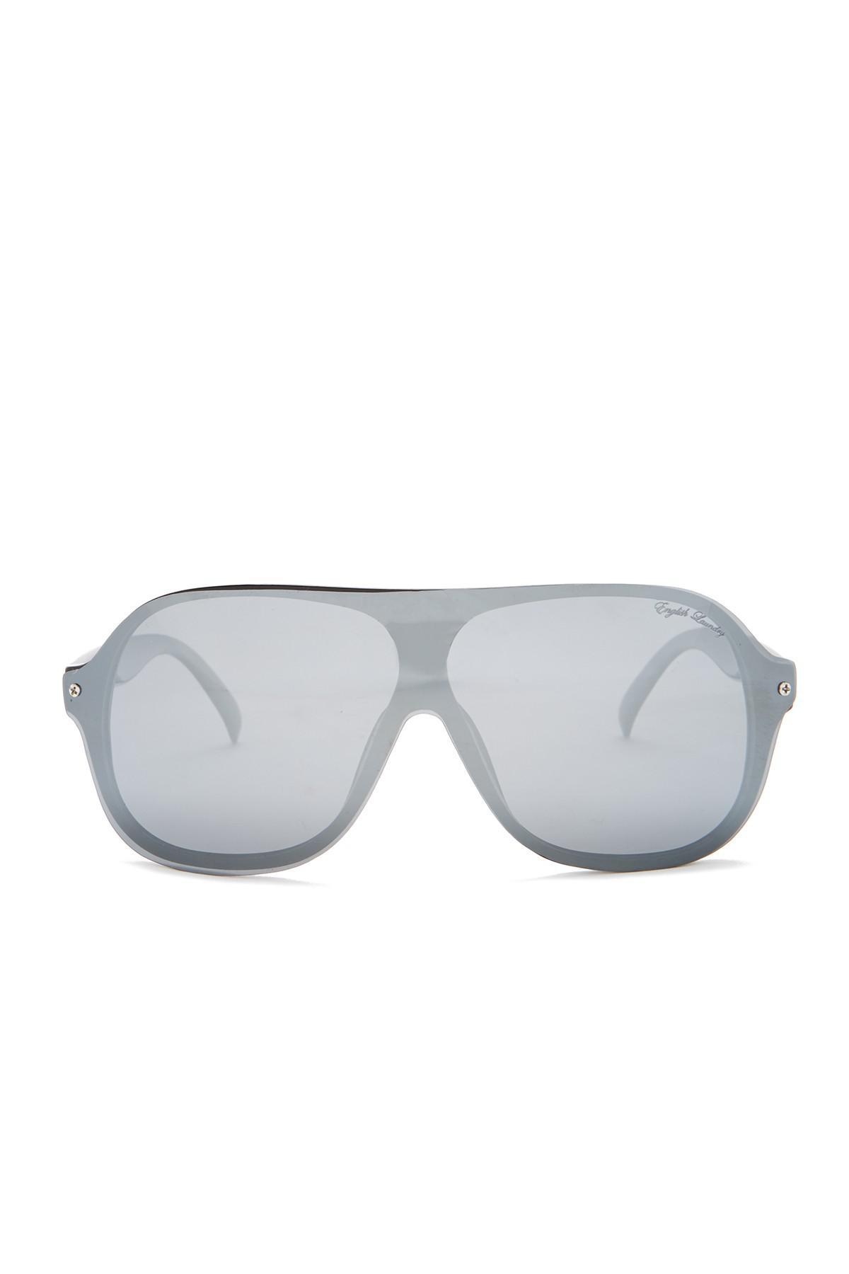67229f22a746 English Laundry Shield Plastic Frame Sunglasses for Men - Lyst