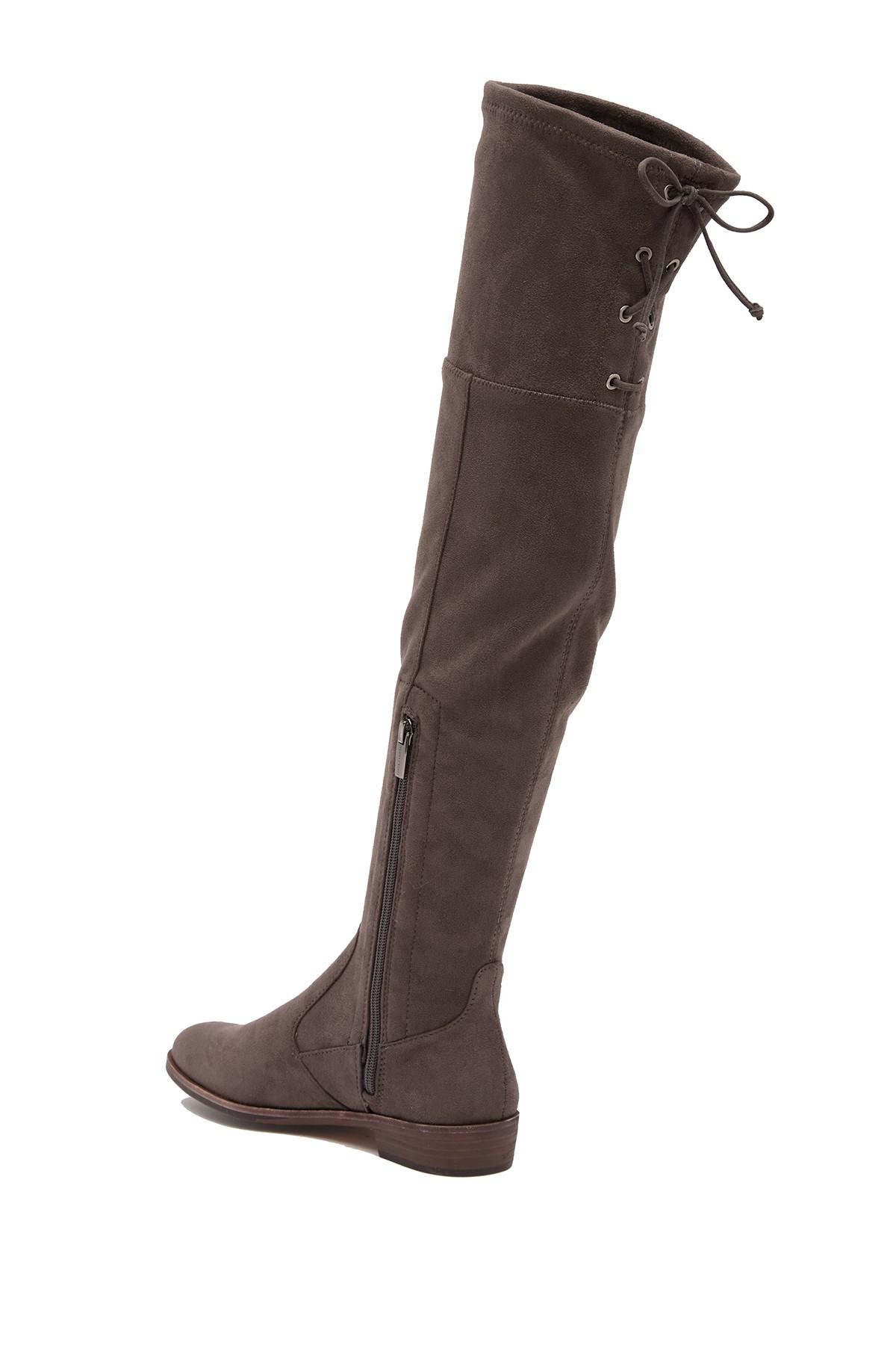 3b76ae0ae83 Vince Camuto - Gray Crisintha Over The Knee Boot - Lyst. View fullscreen