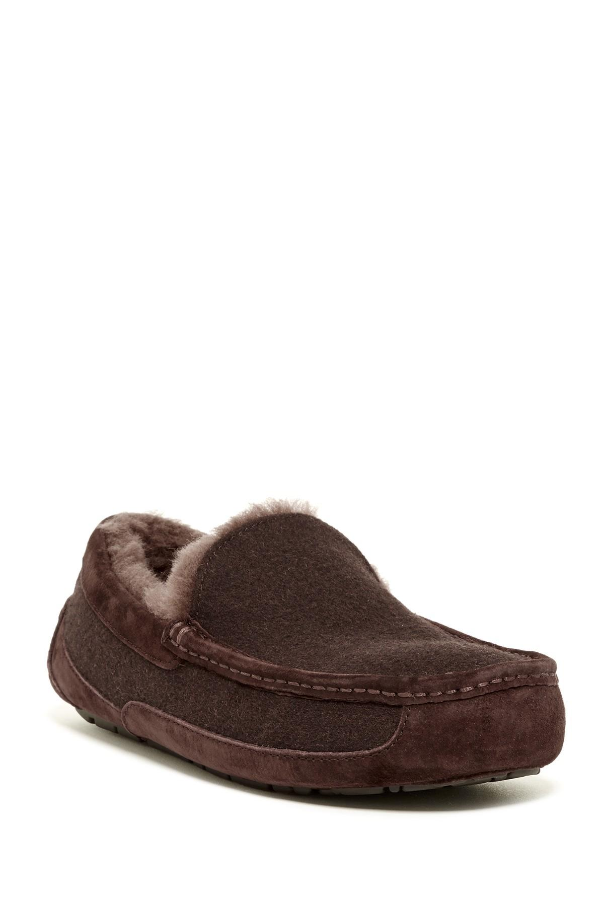 4ed622f7b1b Men's Brown Ascot Uggpure(tm) Slipper