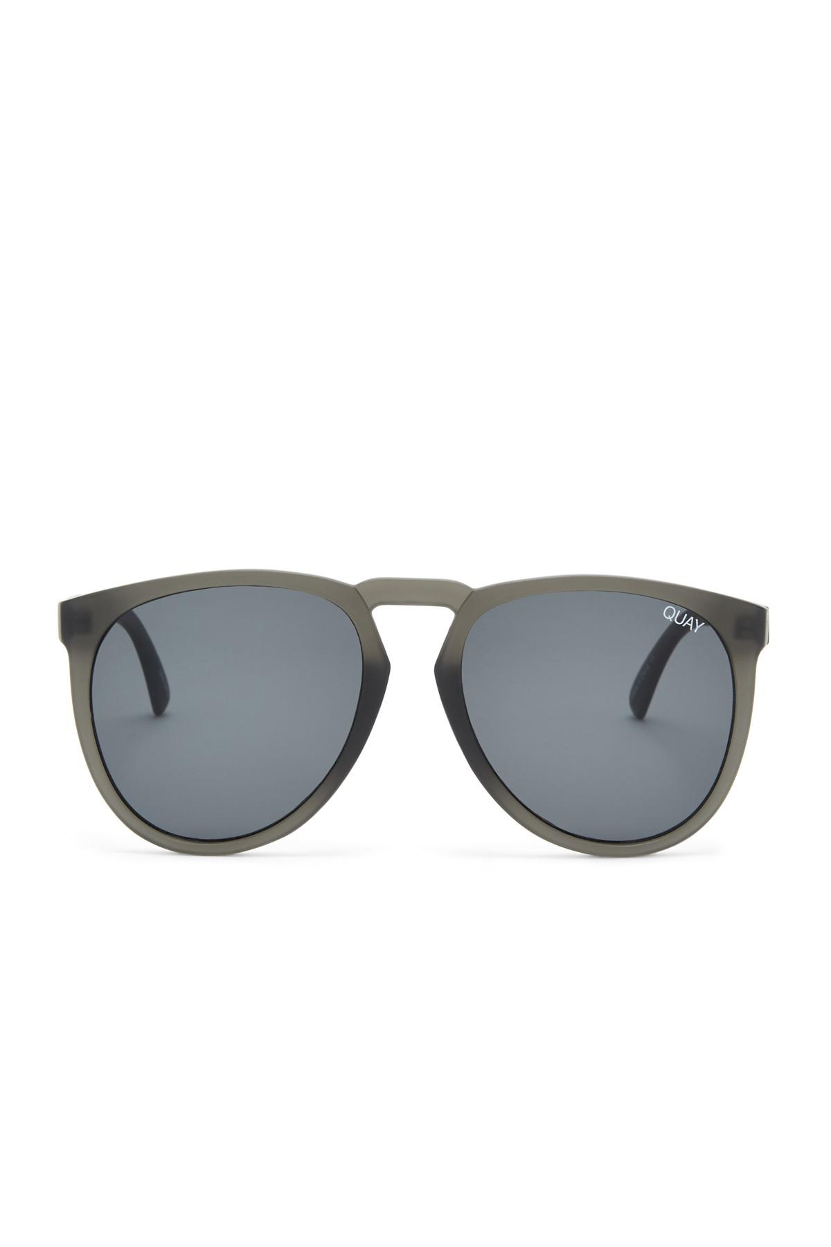 647b16975e Lyst - Quay Phd 58mm Aviator Sunglasses in Gray for Men
