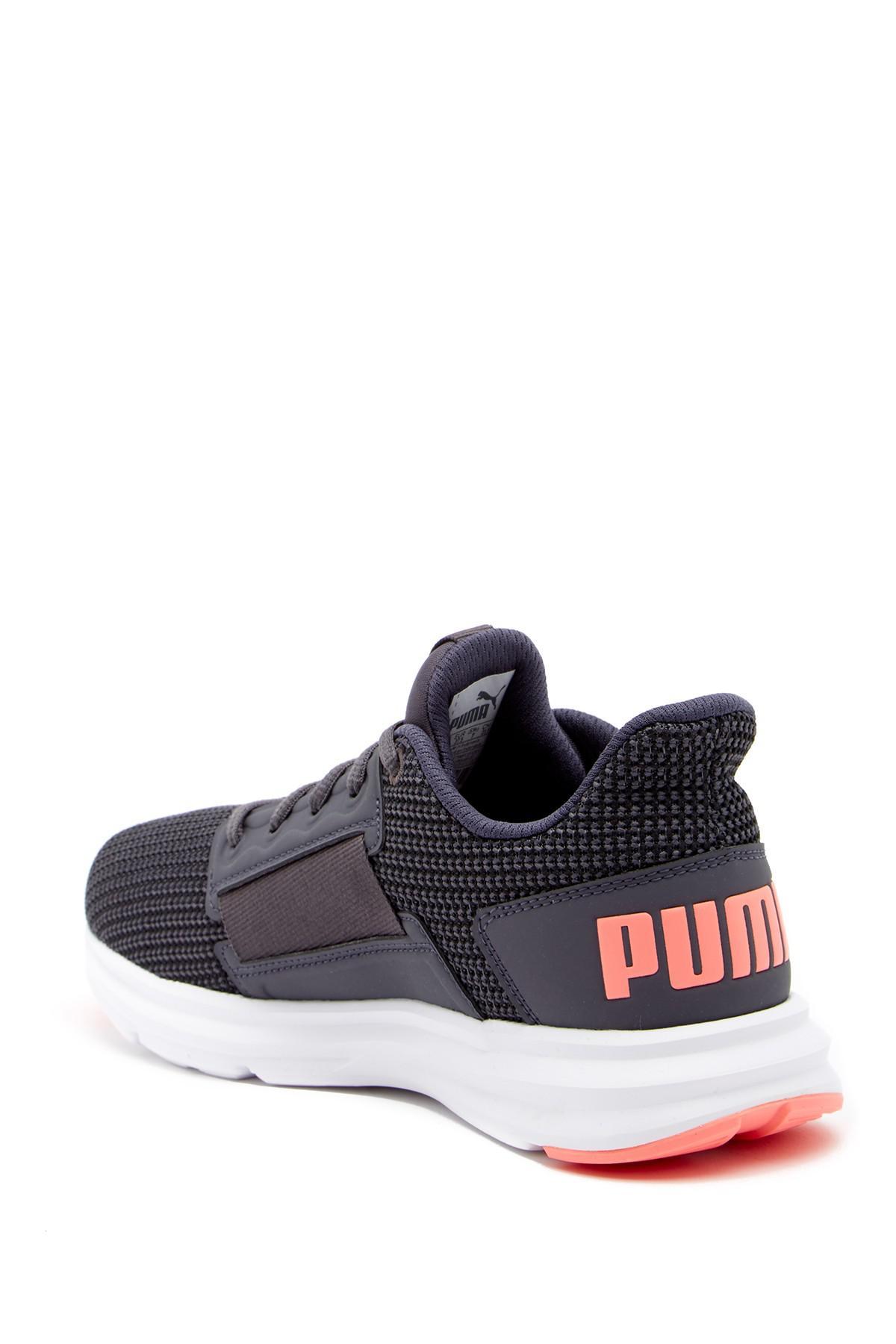 1a3e7be1364 Lyst - PUMA Enzo Street Knit Training Sneaker in Gray