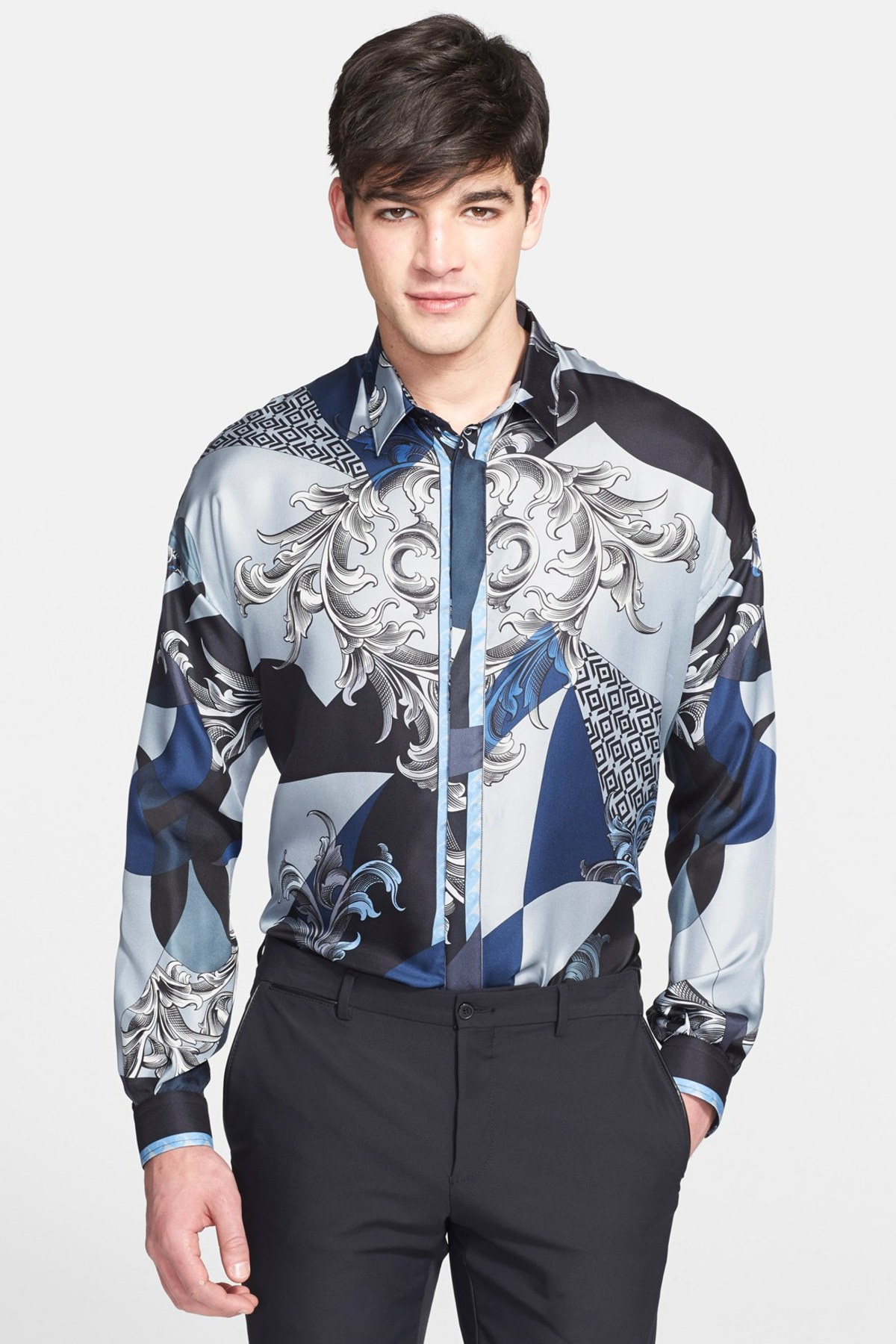 Shop discounted mens versace shirts & more on smashingprogrammsrj.tk Save money on millions of top products at low prices, worldwide for over 10 years.