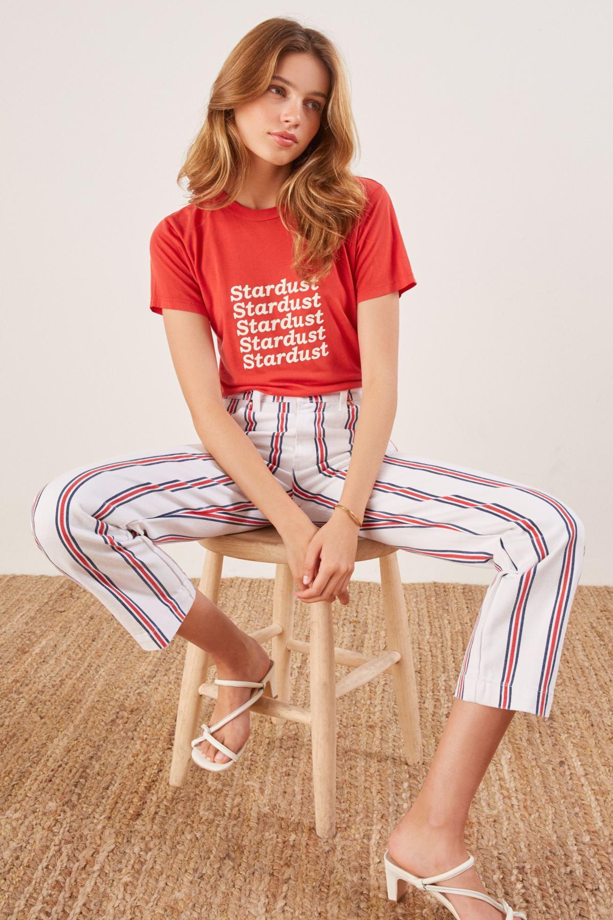 1fd21bc4774 Lyst - Reformation Roper Crop Straight Leg Jeans - Save 24%
