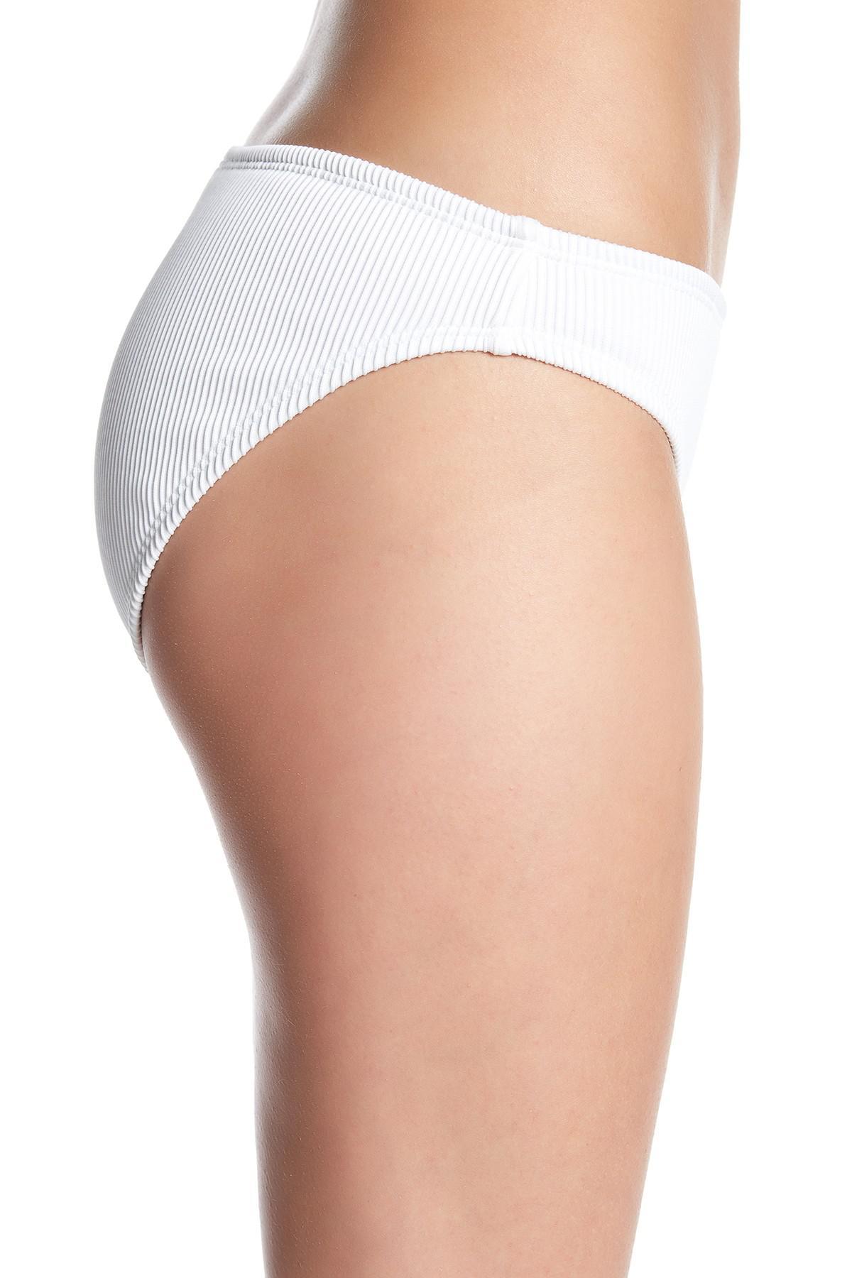 d31a16ff18186 Lyst - Vigoss Ribbed Snapper 2-piece Bikini in White