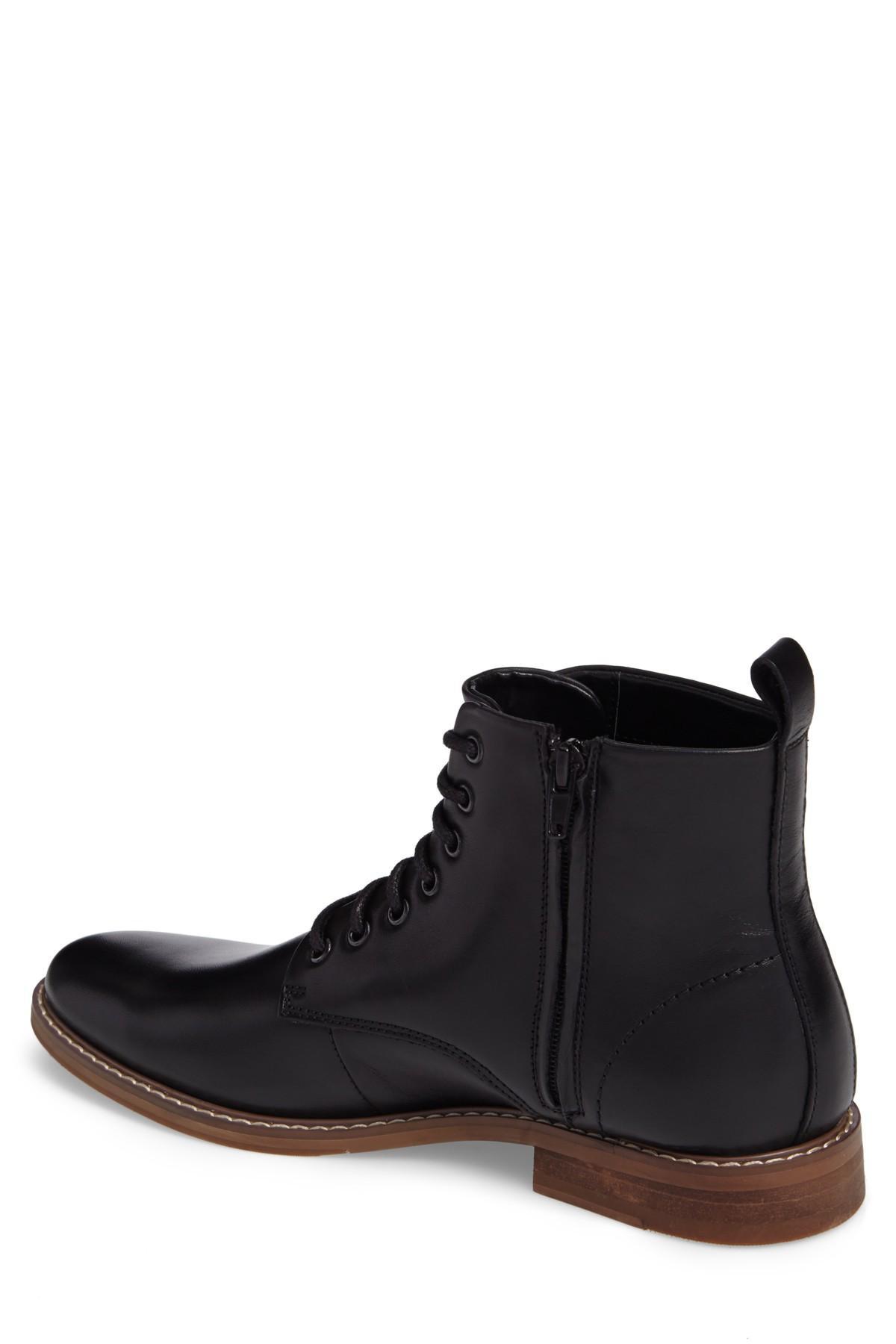 ca2f587bd64 Lyst - The Rail Albany Plain Toe Boot (men) in Black for Men